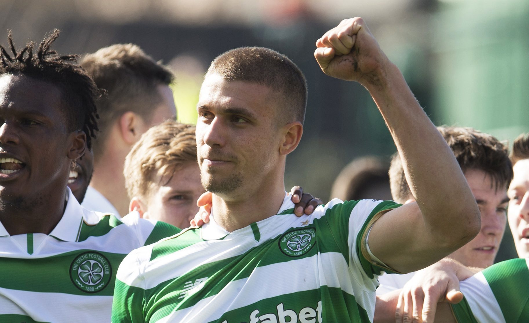 Celtic's Jozo Simunovic (SNS Group)