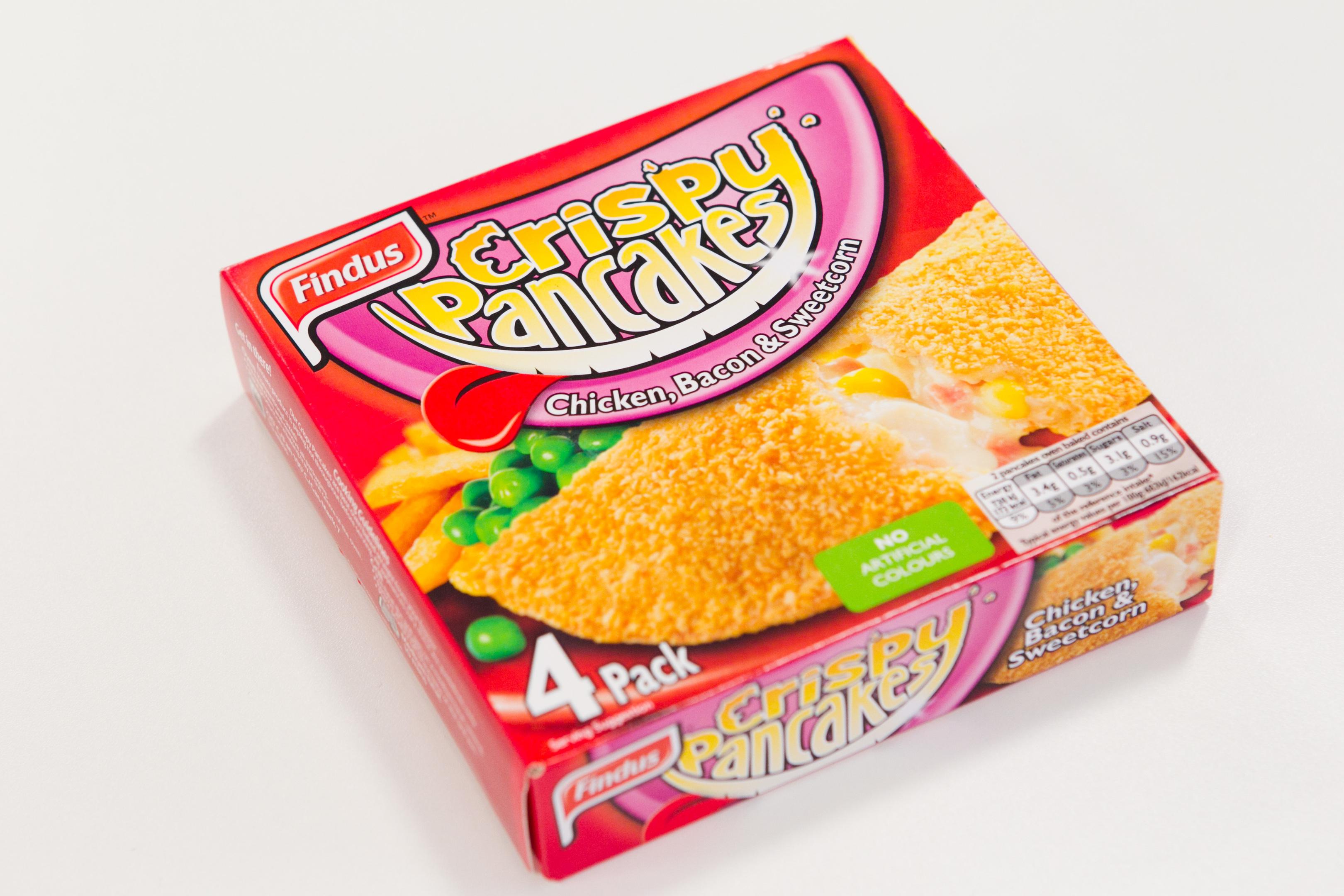 Findus Crispy Pancakes (Andrew Cawley / DC Thomson)