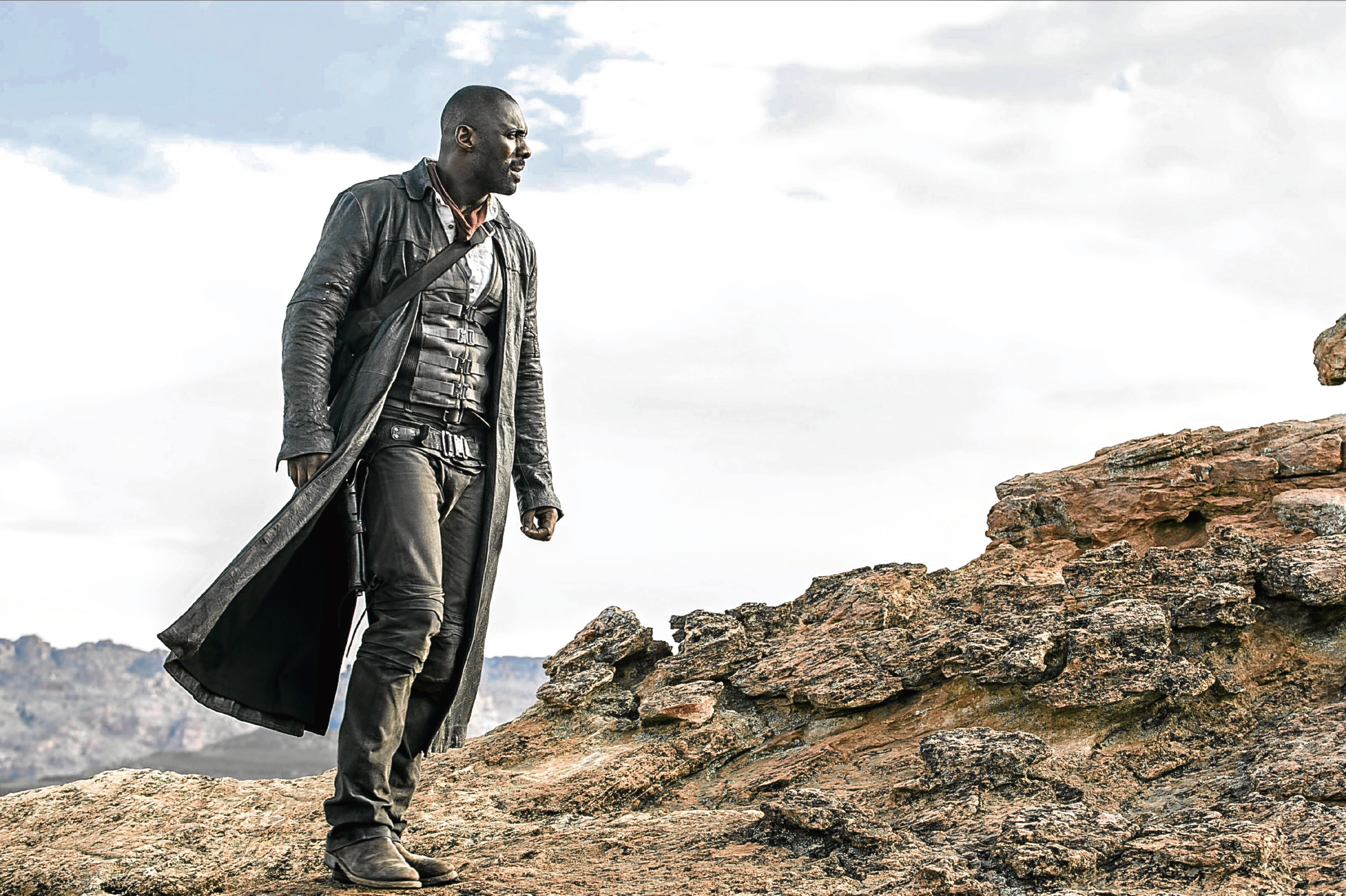 Roland Deschain (Idris Elba) in Columbia Pictures' The Dark Tower