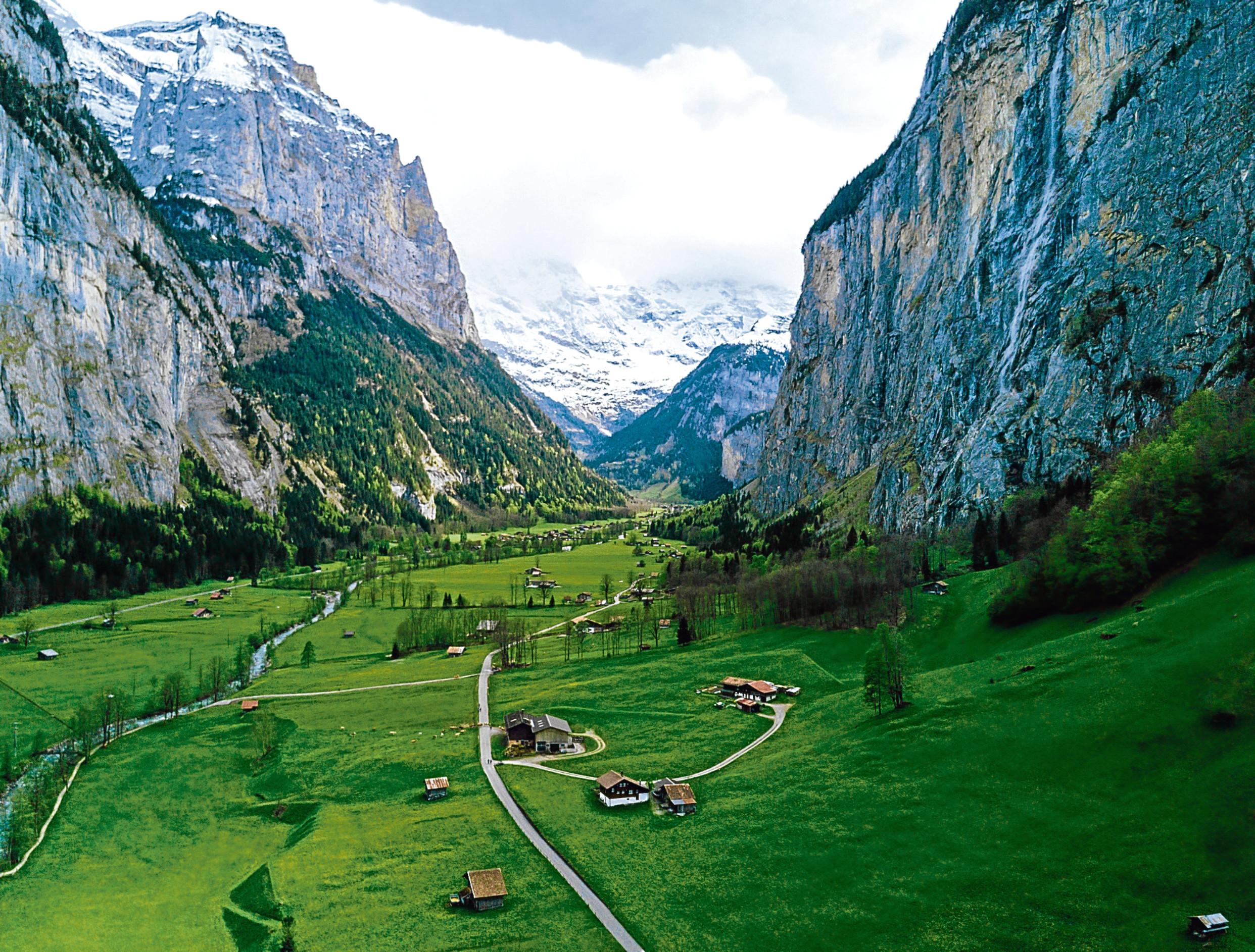Lauterbrunnen valley in the Canton of Bern in Switzerland (iStock)