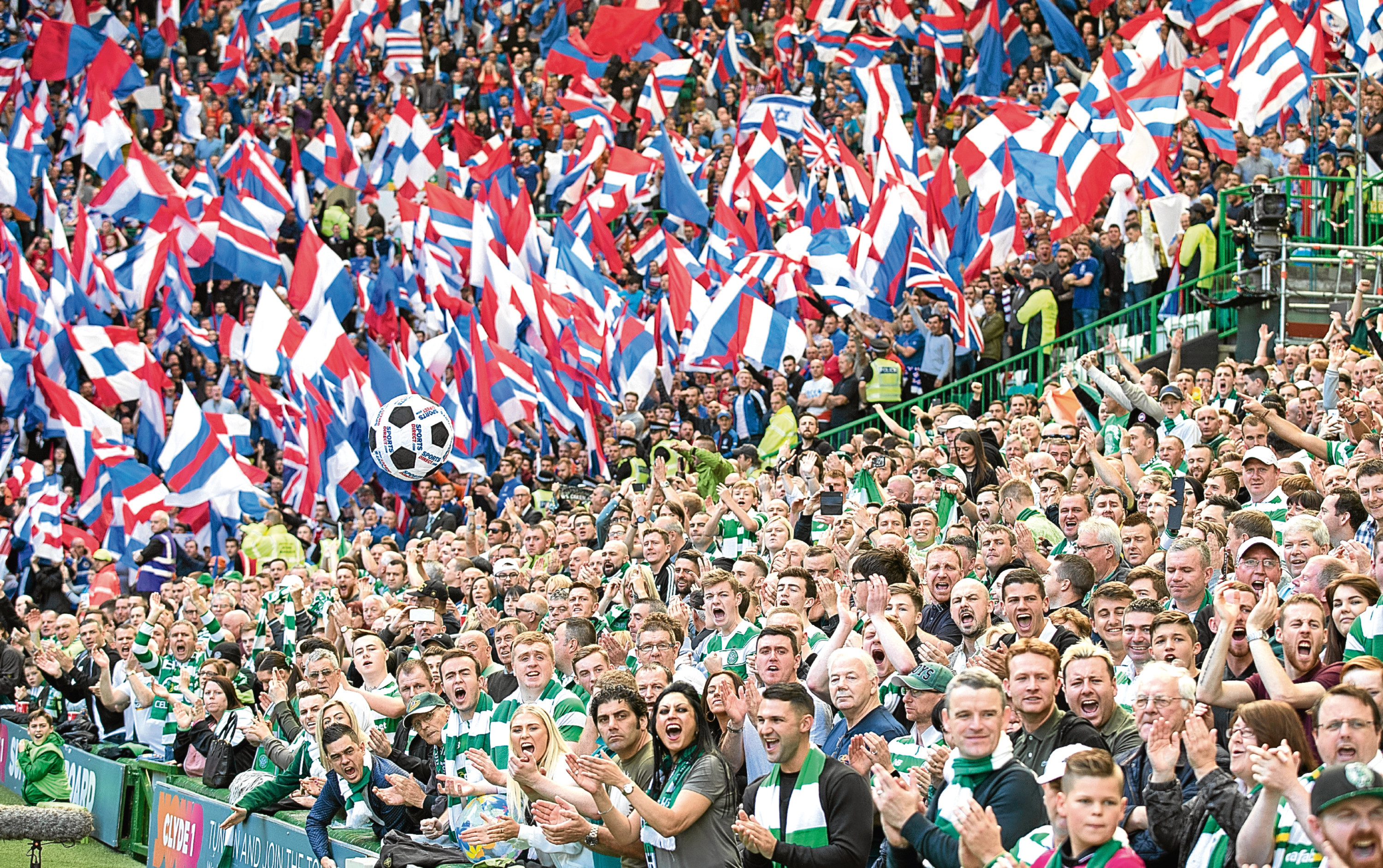 The Act came about following an Old Firm 'shame game' in 2011 - now legal chiefs have branded it a waste of time (Steve Welsh/Getty Images)