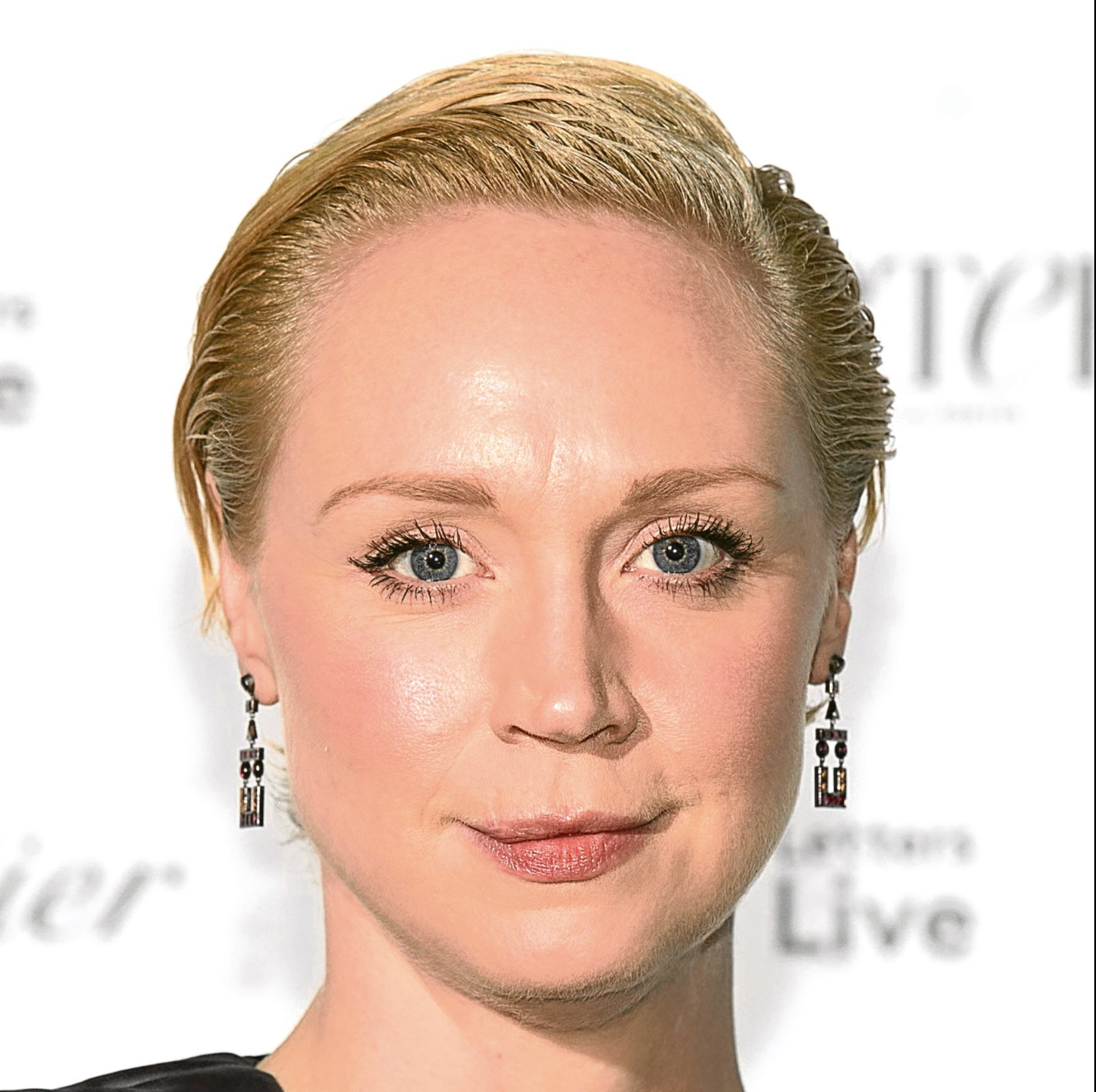 Gwendoline Christie attending the Letters Live Black Tie Gala Dinner, at the V&A, London. (Matt Crossick/PA Wire)