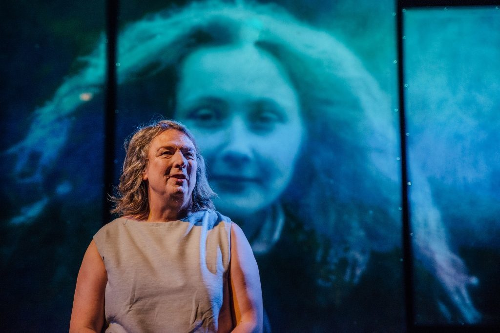 Jo Clifford onstage in Eve (David Monteith-Hodge)