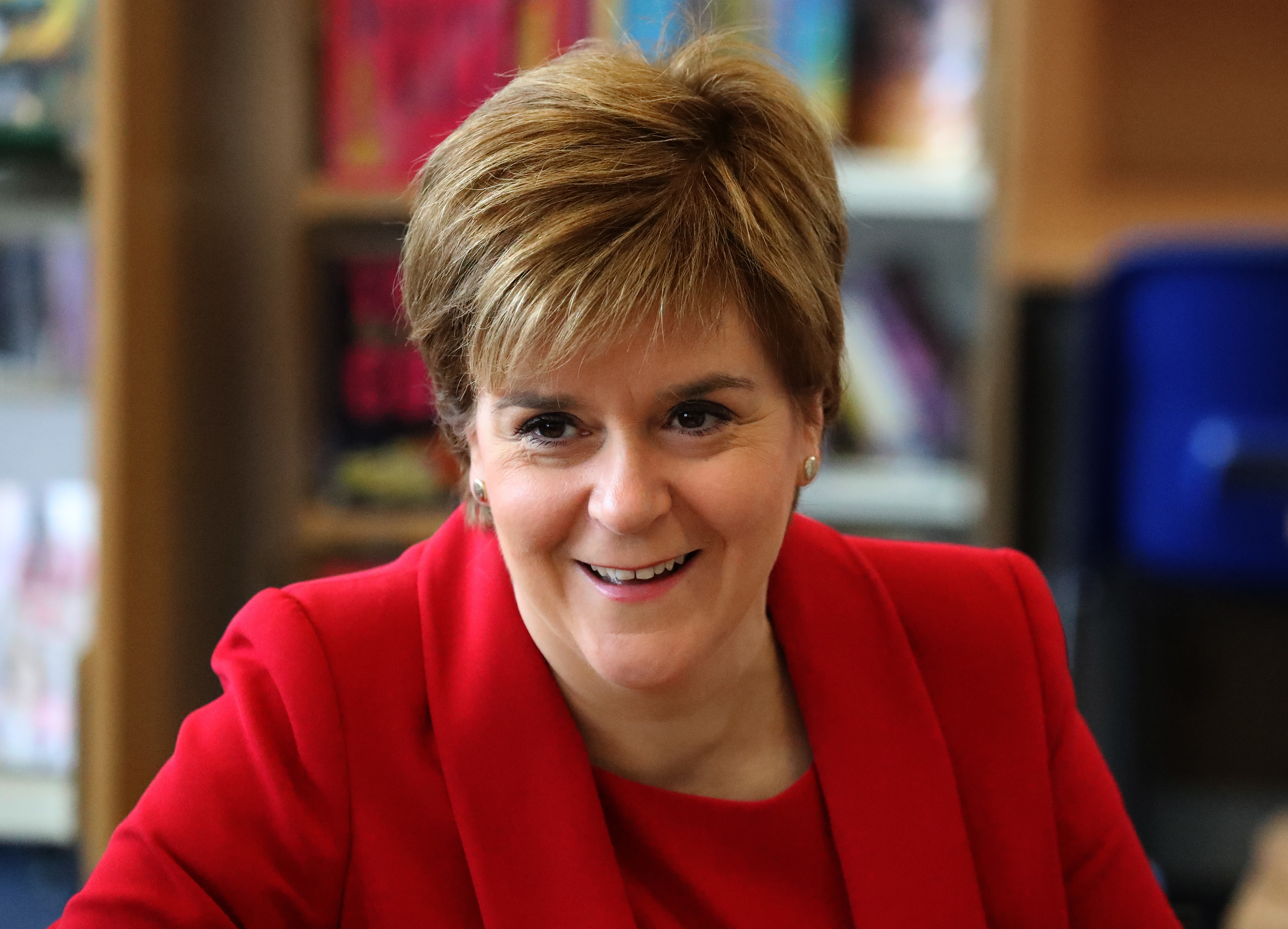 First Minister Nicola Sturgeon has announced plans for a National Film and Television School hub in Glasgow (Andrew Milligan - WPA Pool/Getty Images)