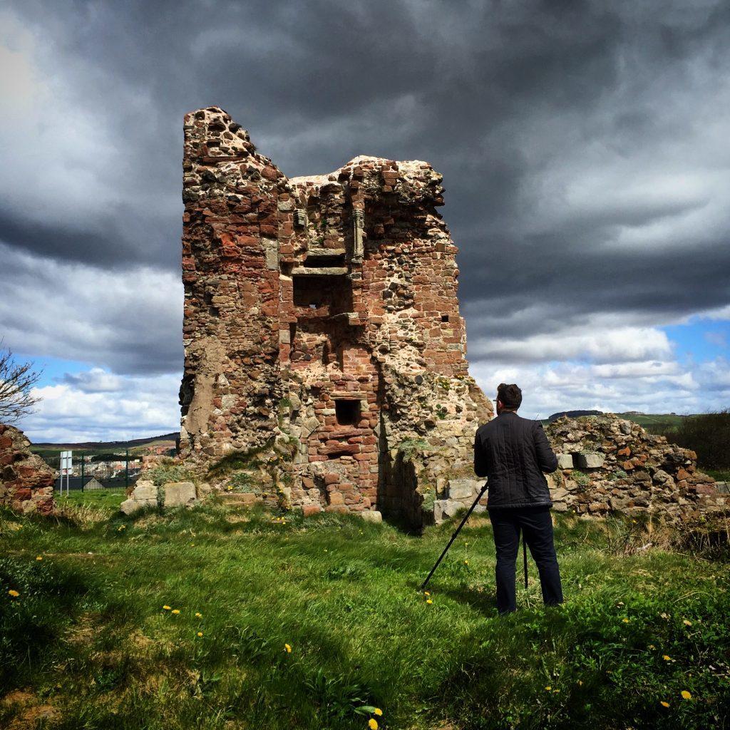 Ardrossan Castle, North Ayrshire (Dig It! 2017)