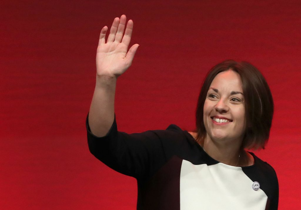 Kezia Dugdale has announced she will be stepping down as leader of the Scottish Labour Party (Andrew Milligan/PA Wire)