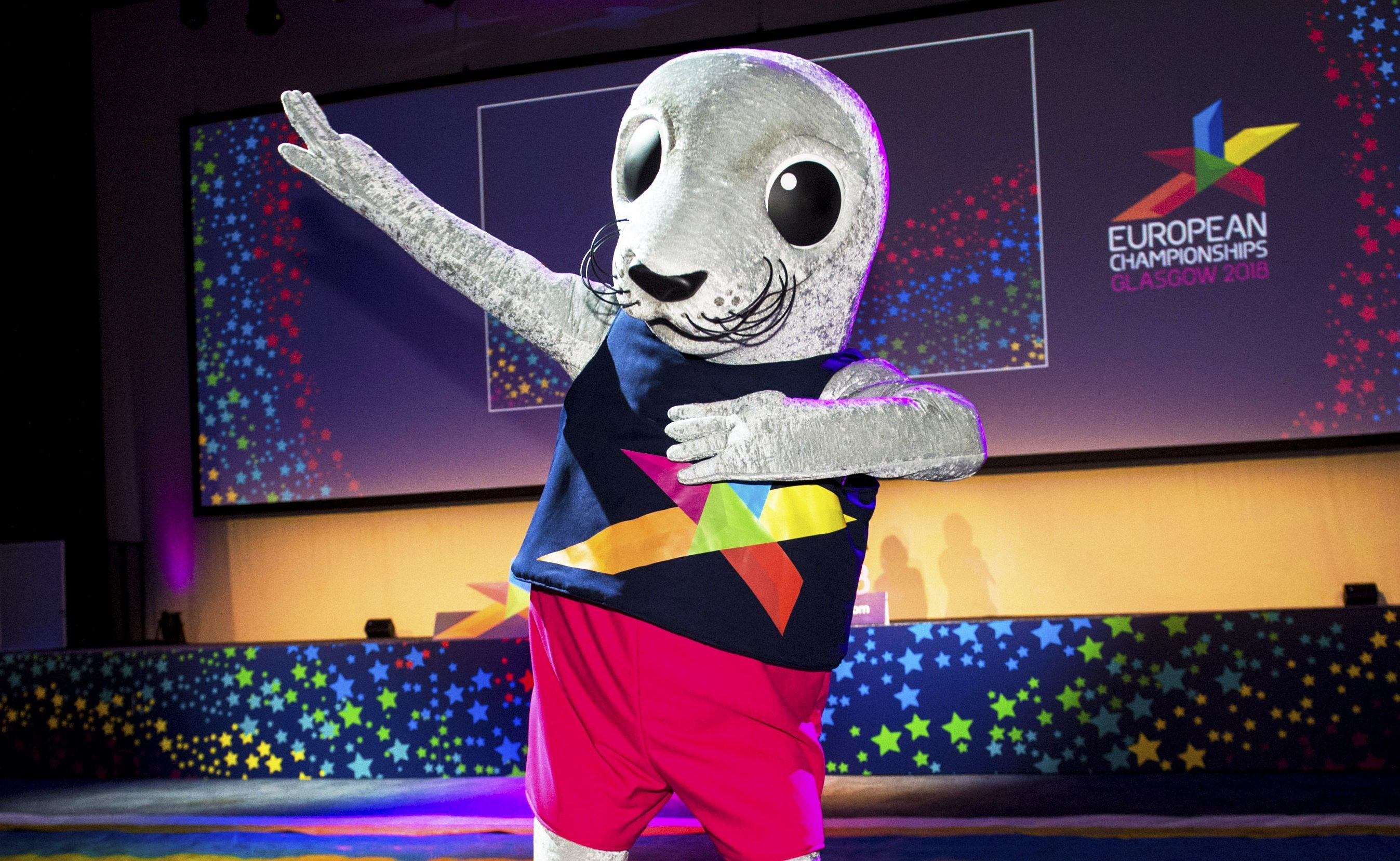 Glasgow 2018 mascot Bonnie the Seal (SNS Group / Alan Harvey)