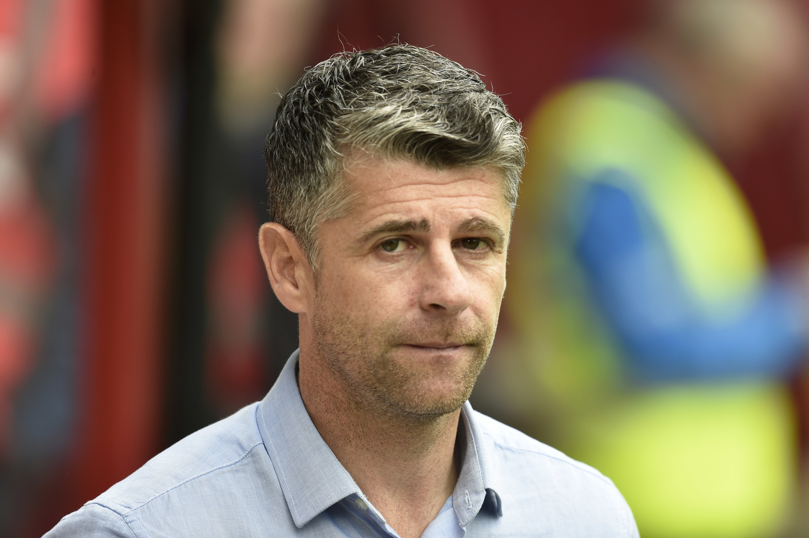 Motherwell manager Stephen Robinson (SNS)