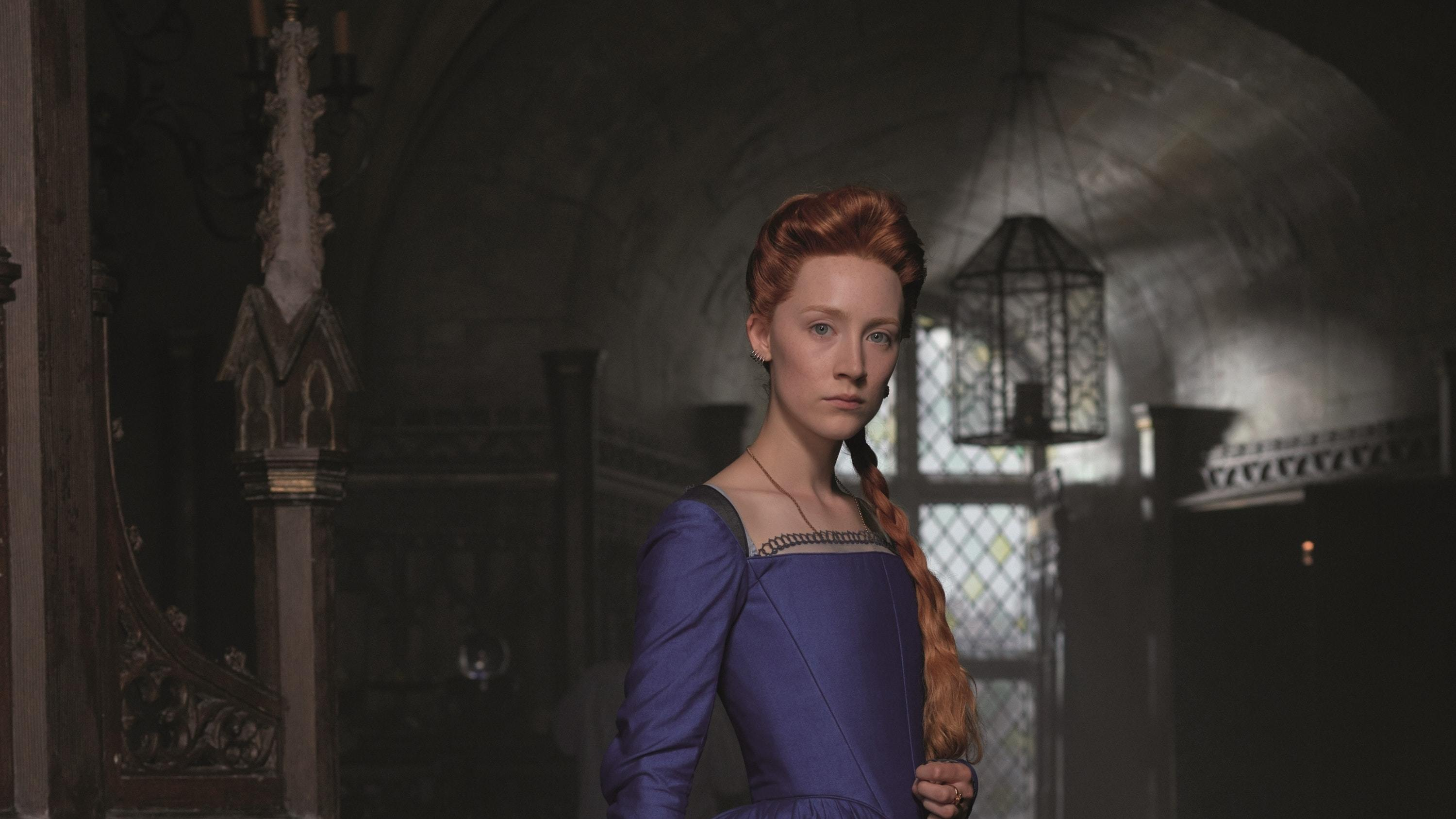 Saoirse Ronan as Mary, Queen of Scots (Working Titles Film)