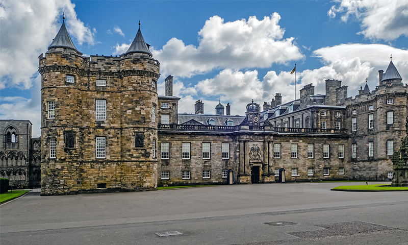 Palace of Holyrood House.