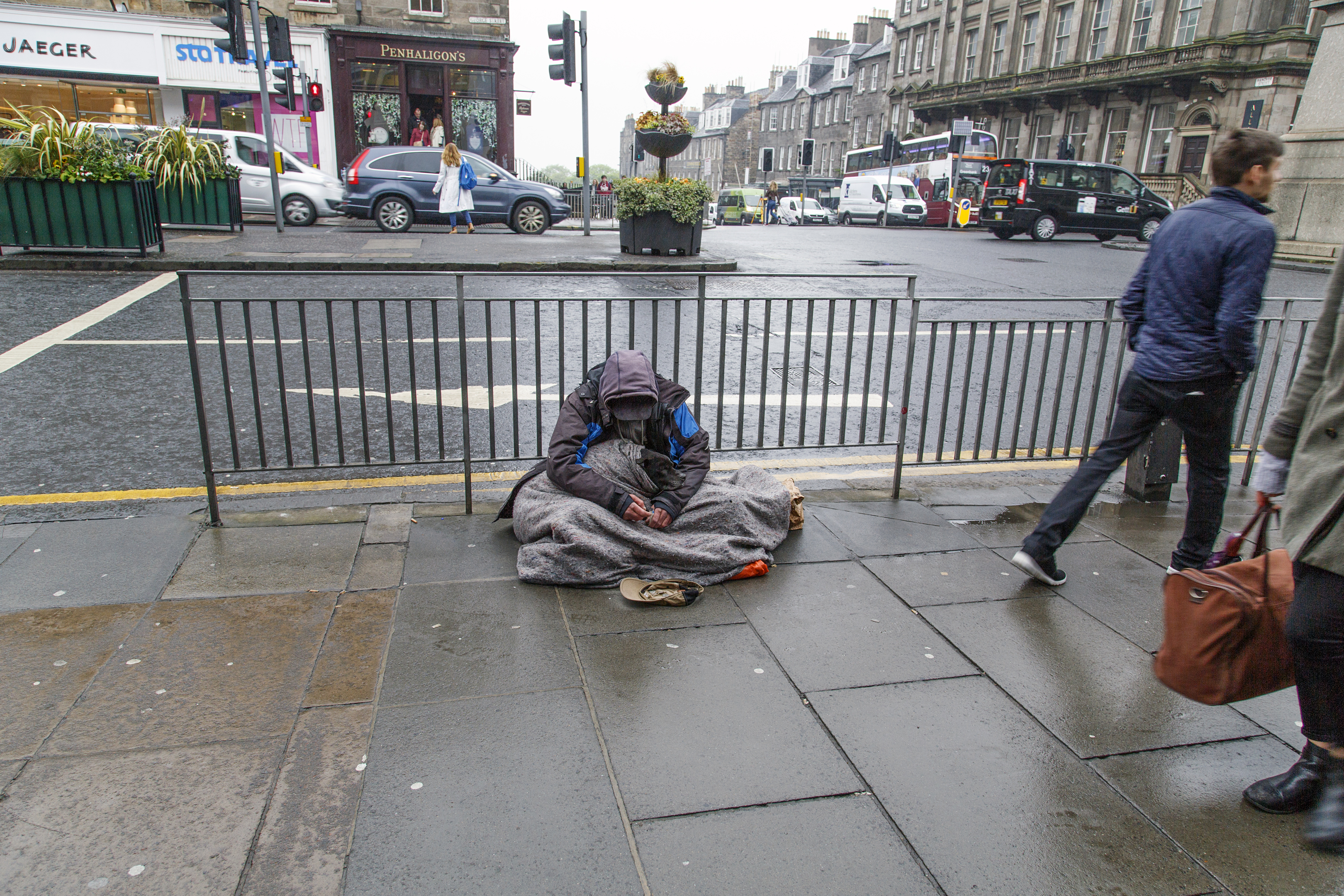 If current economic policies continue unchanged, the number of rough sleepers is expected to nearly double in 25 years from 800 to 1,500 (iStock)