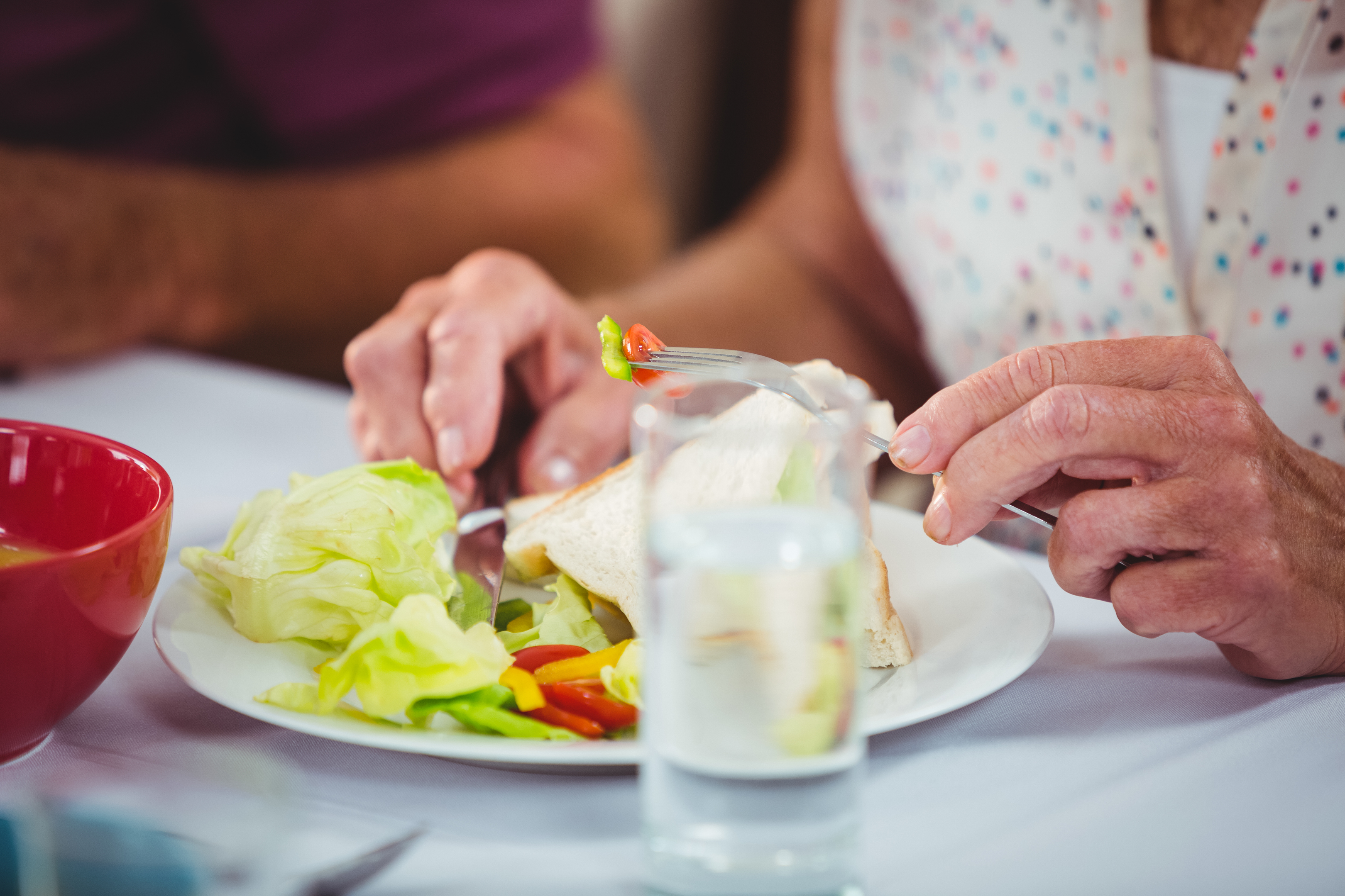 Malnutrition affects one in 10 older people across Scotland (iStock)