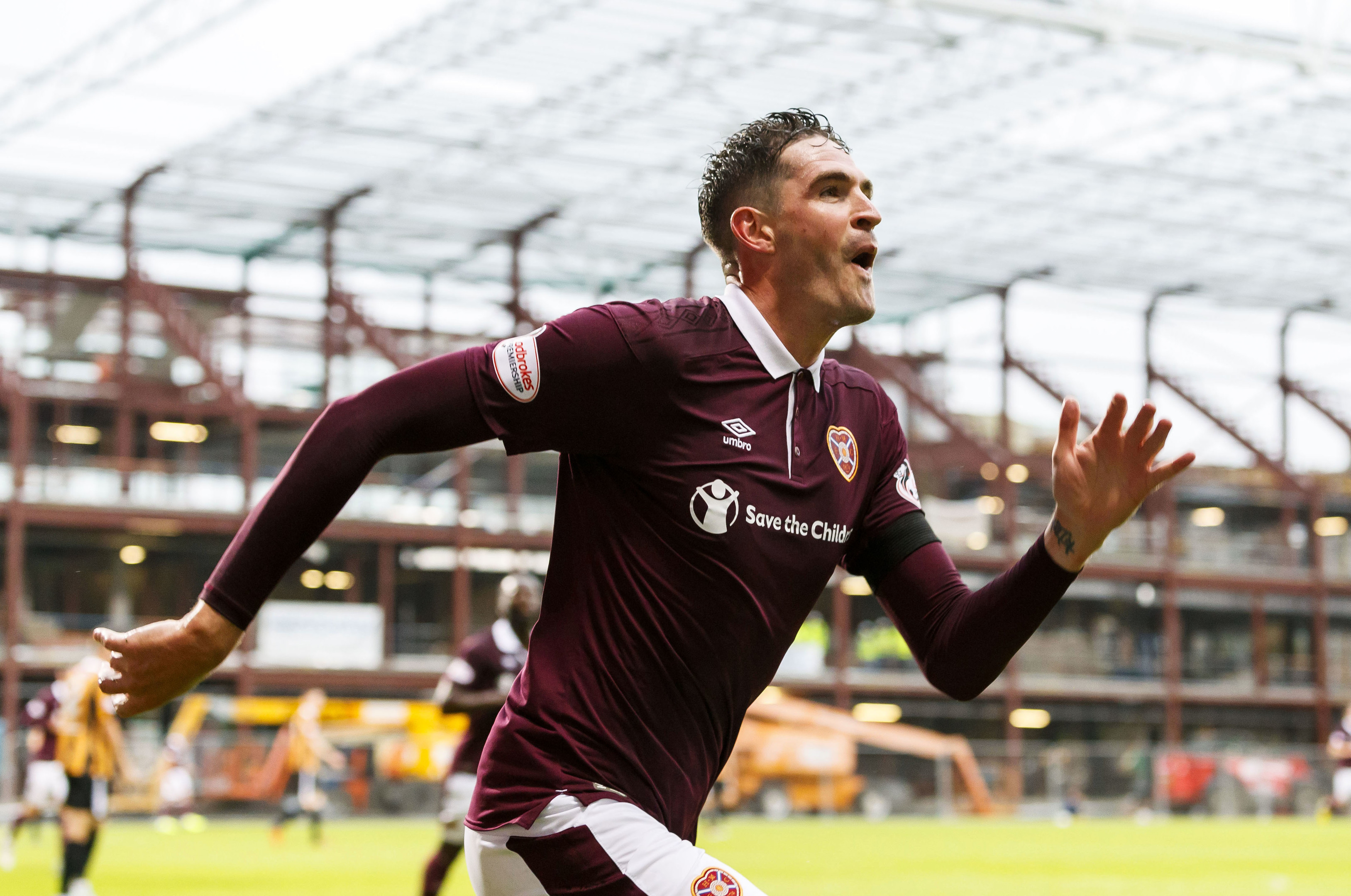 Hearts' Kyle Lafferty (SNS Group)