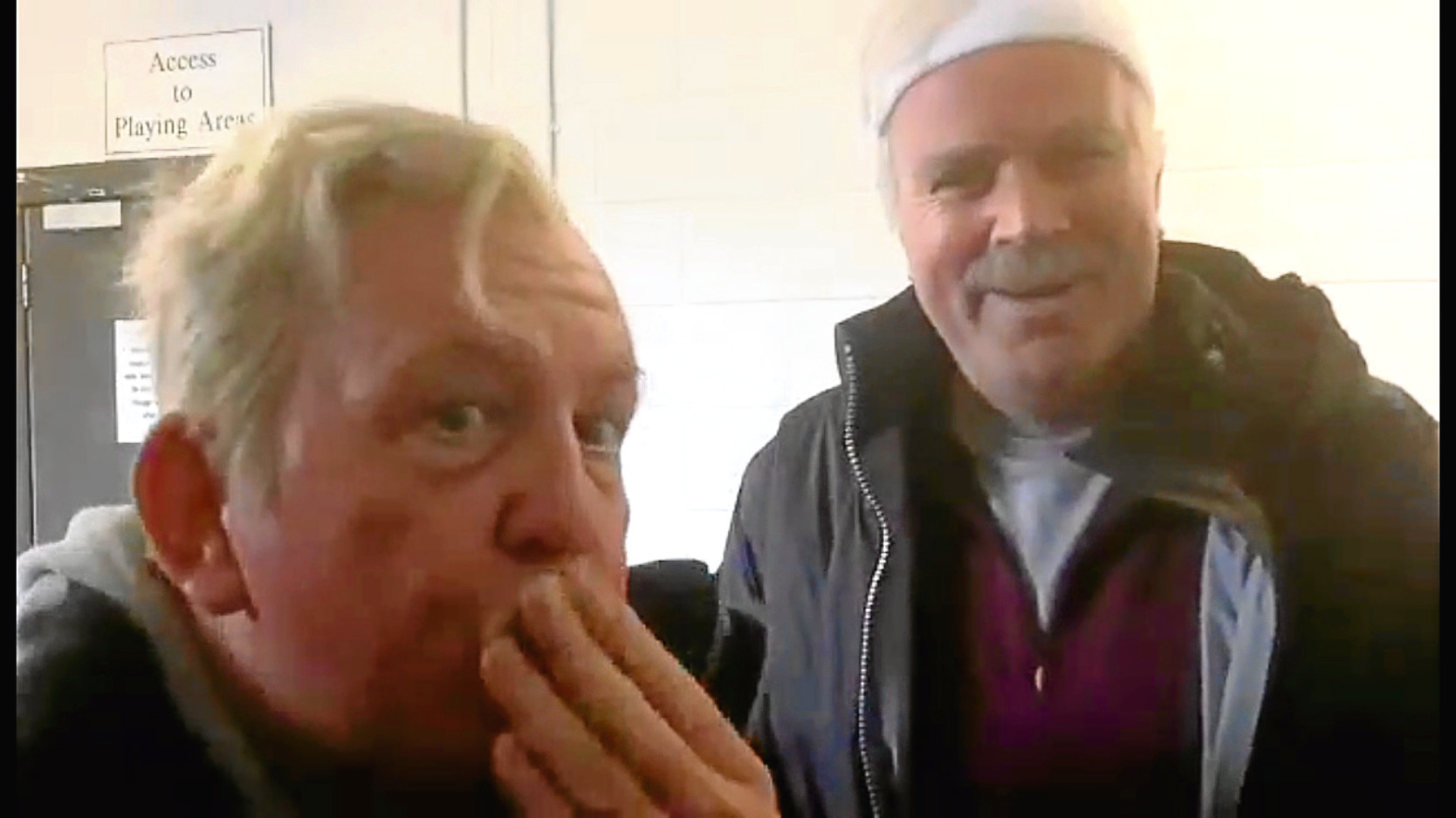 Jack and Victor send their best wishes
