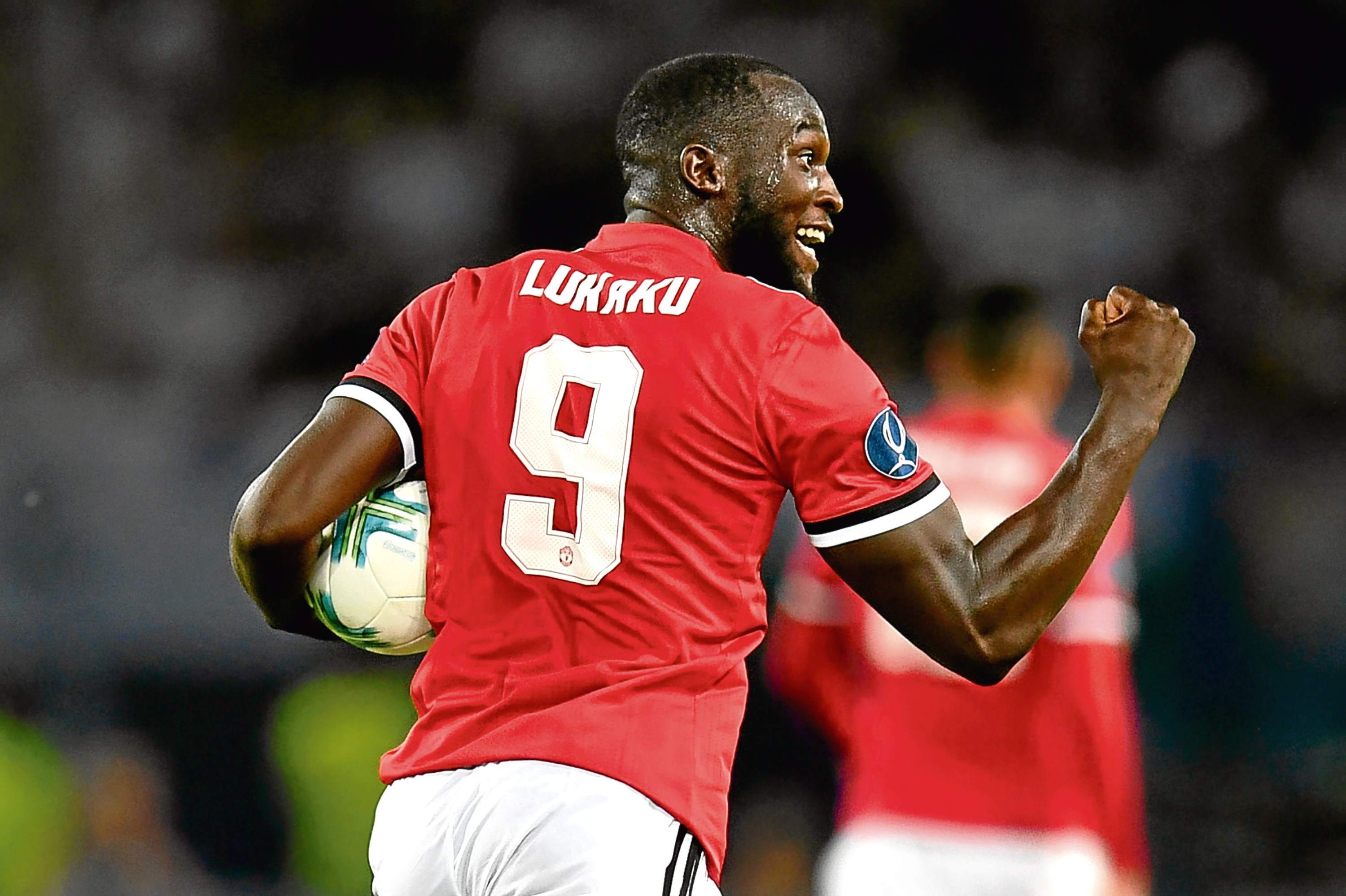 Romelu Lukaku of Manchester United (Dan Mullan/Getty Images)