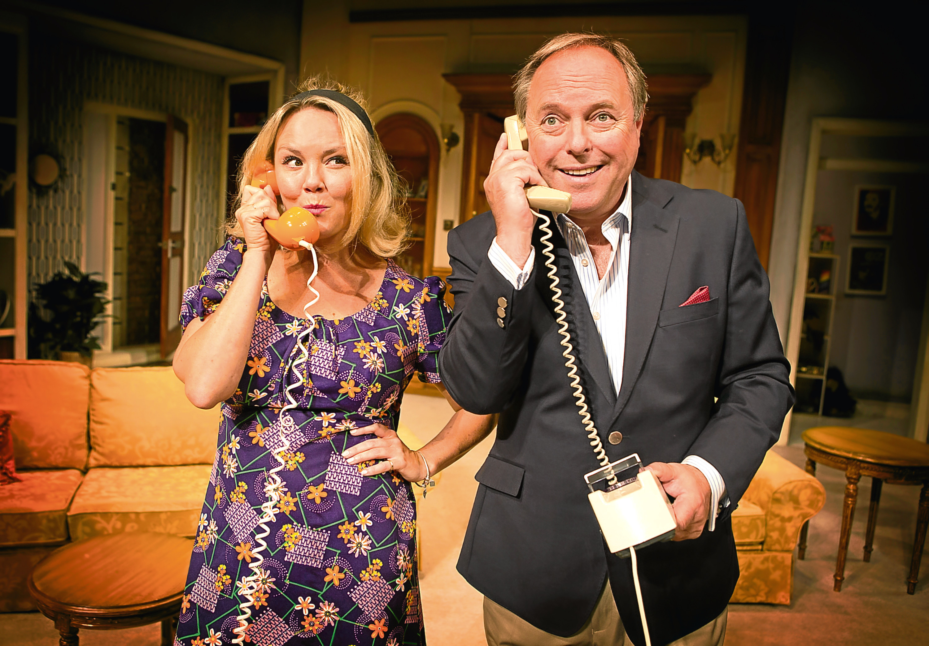 Charlie Brooks and Robert Daws are appearing in How The Other Half Loves