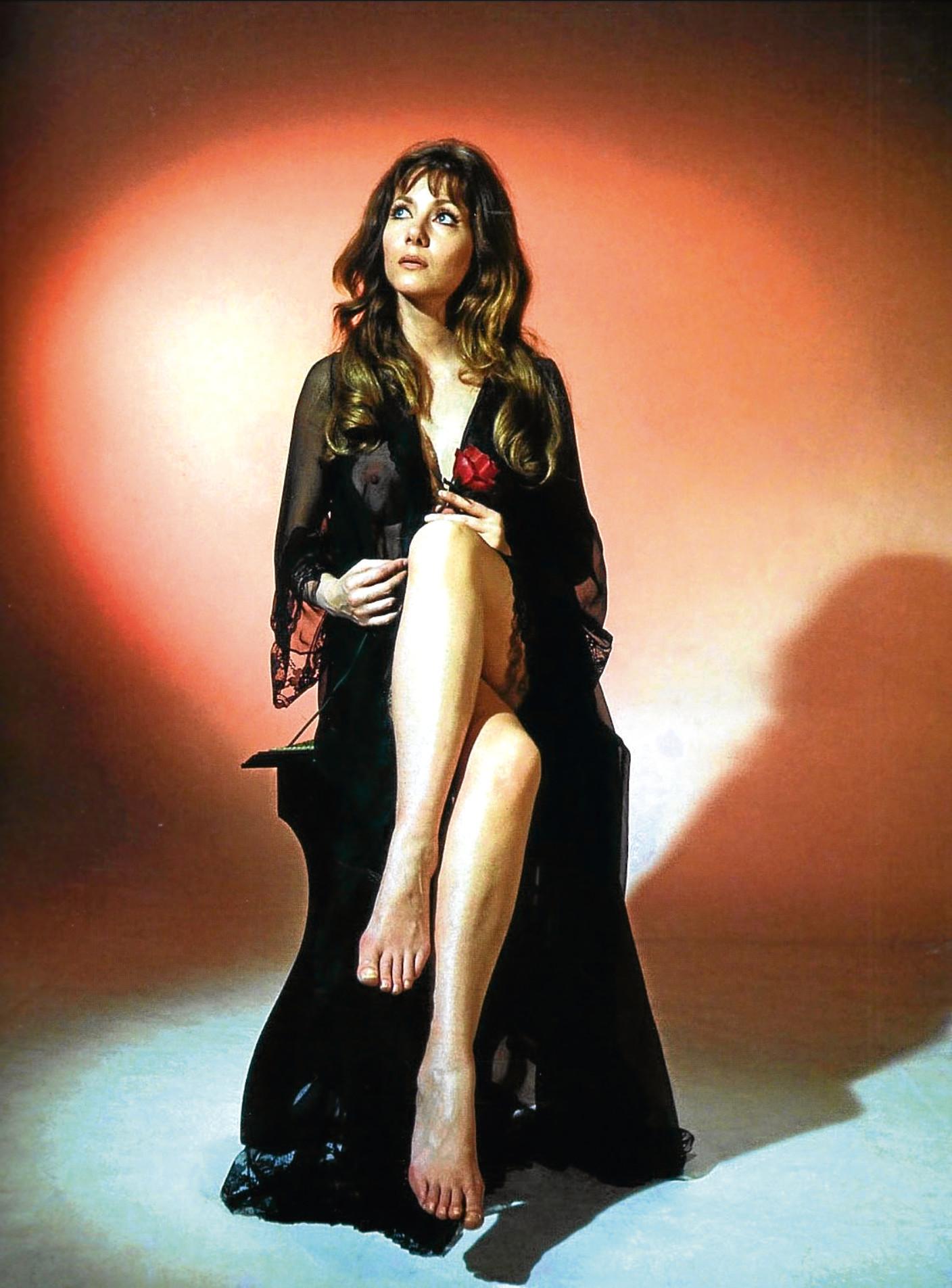 Ingrid Pitt as Marcilla in The Vampire Lovers, 1970 (Allstar/HAMMER FILM)