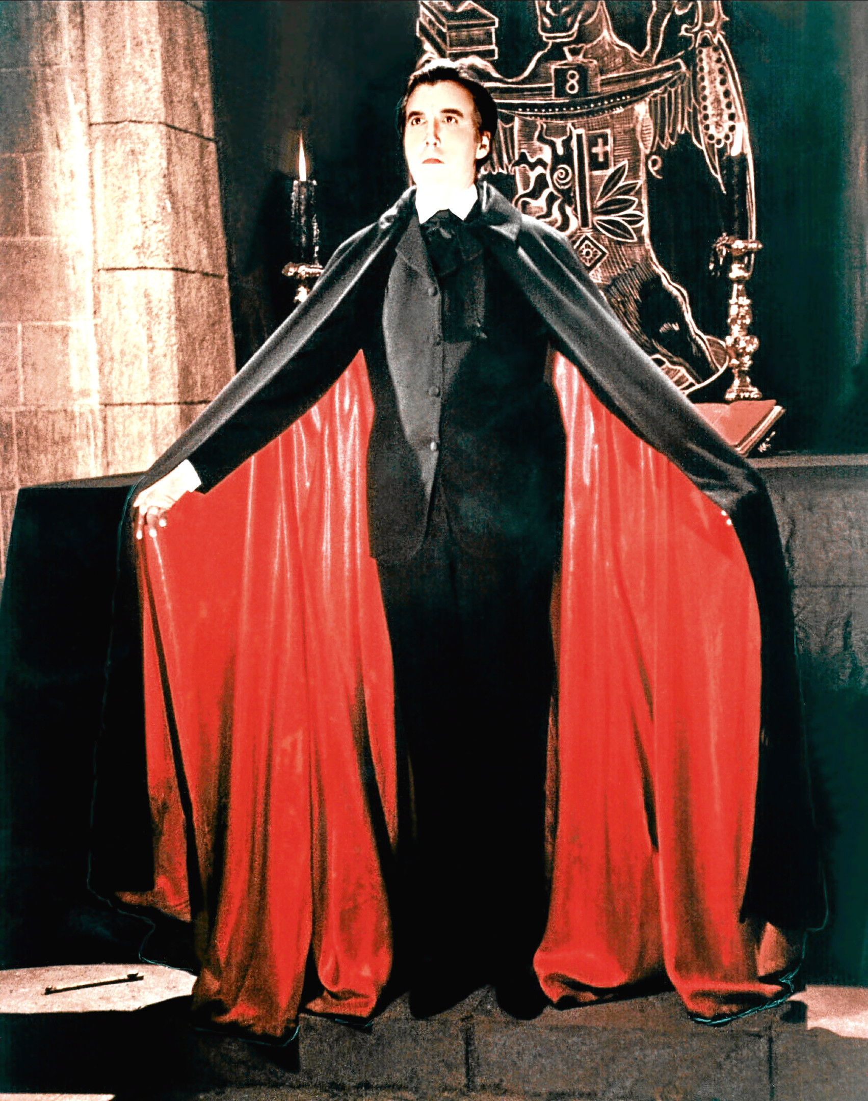 Christopher Lee as Dracula   (Allstar/HAMMER FILM PRODUCTIONS)