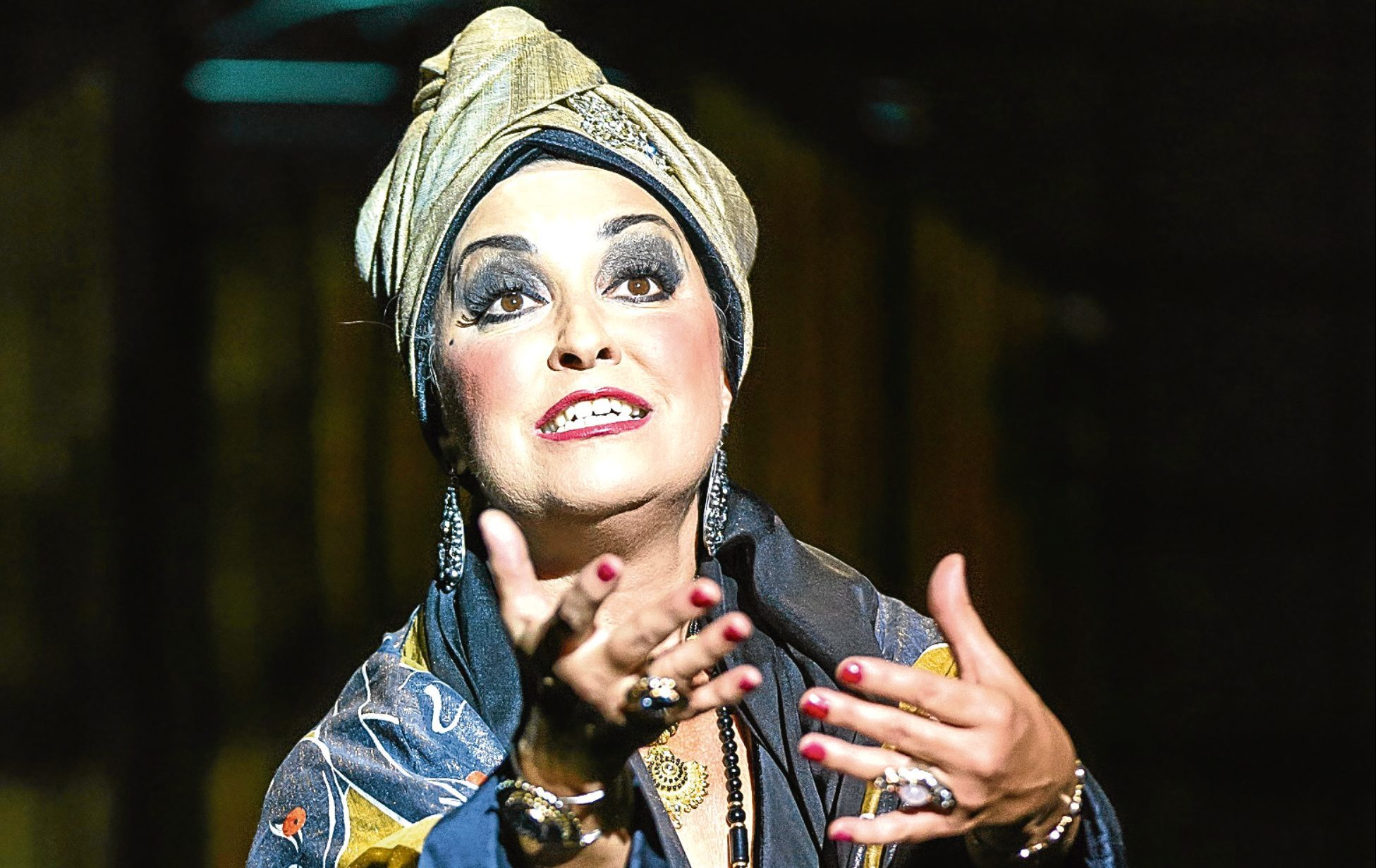 Ria Jones as Norma Desmond in Sunset Boulevard (Manuel Harlan)
