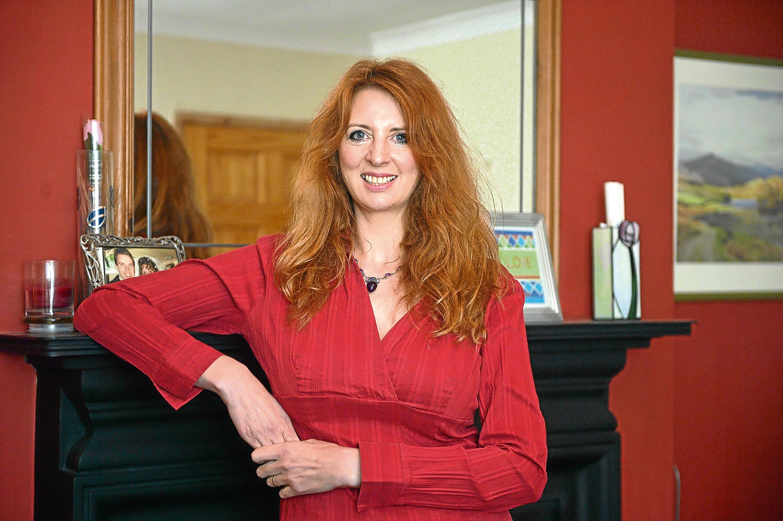 Helen Howlett of Whitley Bay, Tyne & Wear. (Paul Vicente/The Sunday Post)