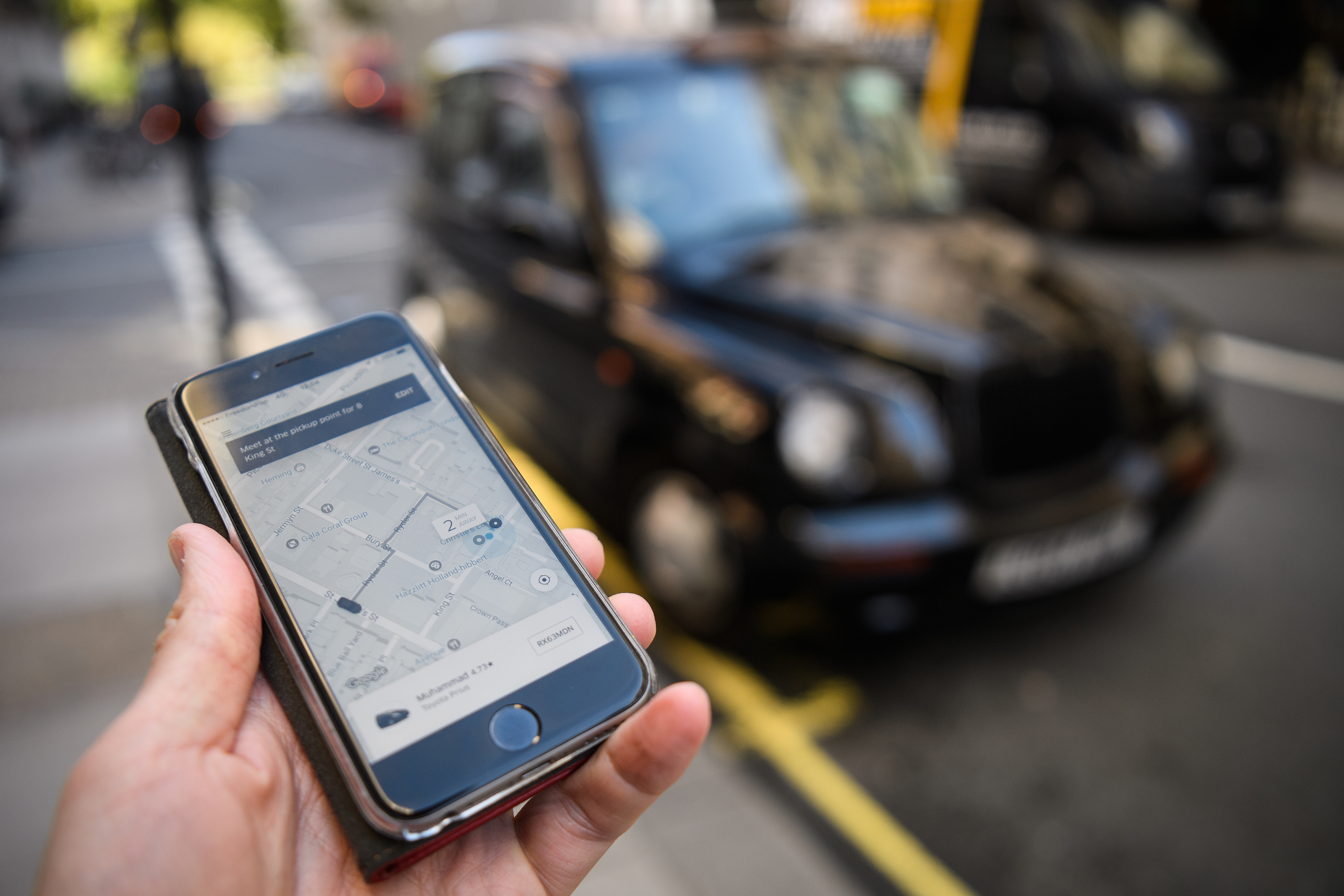 There are no plans to review Uber in Scotland after the company lost its operational license in London (Leon Neal/Getty Images)