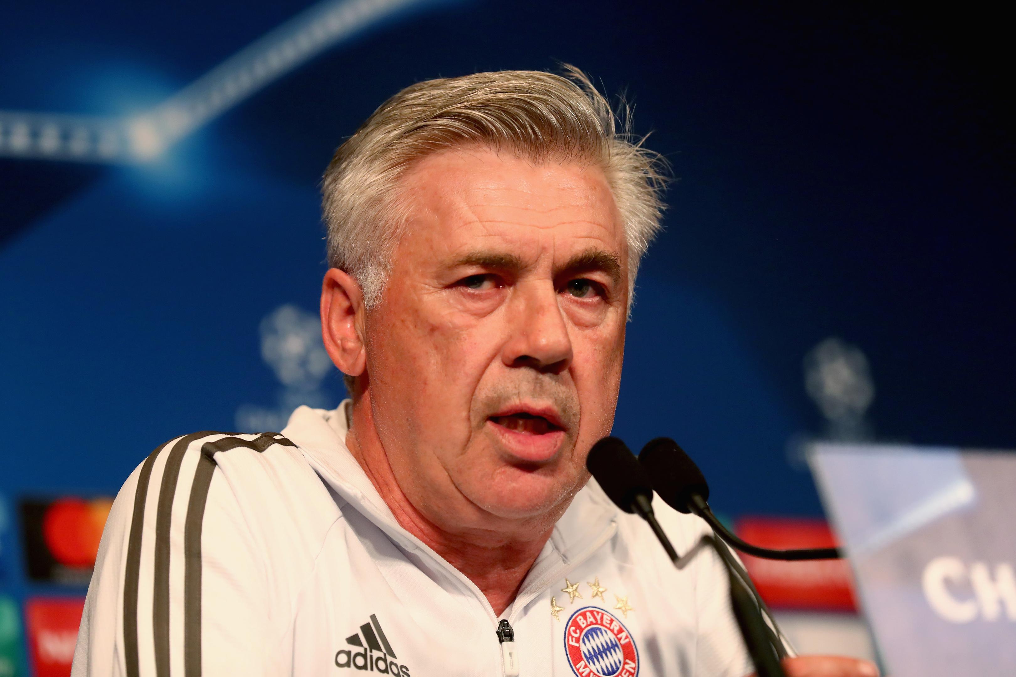 Carlo Ancelotti (Alexander Hassenstein/Bongarts/Getty Images)