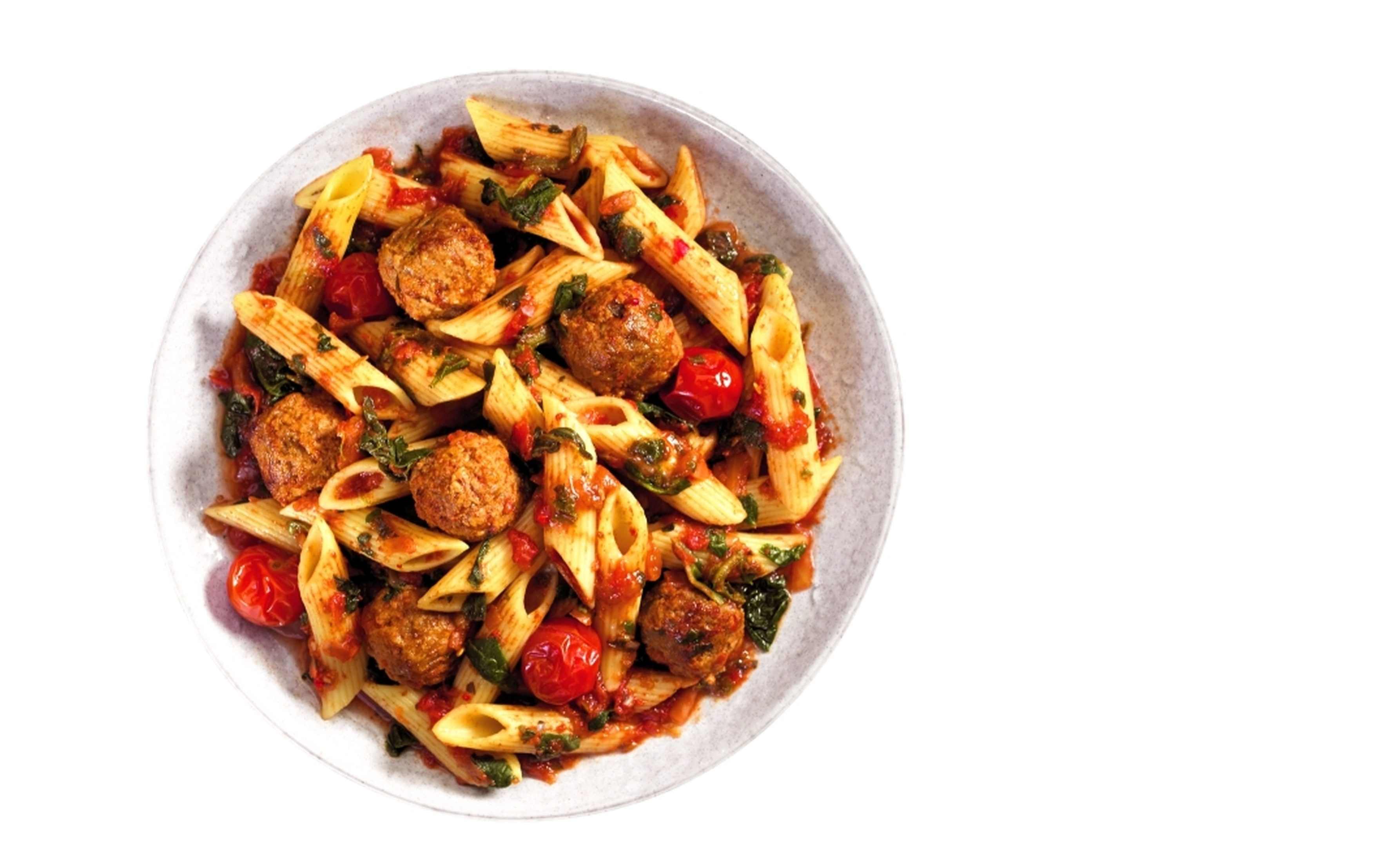 Aldi Slim Free Meatballs and Pasta (Aldi)