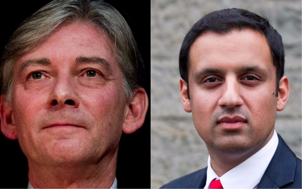 Richard Leonard, Anas Sarwar (Andrew Cawley, DC Thomson)