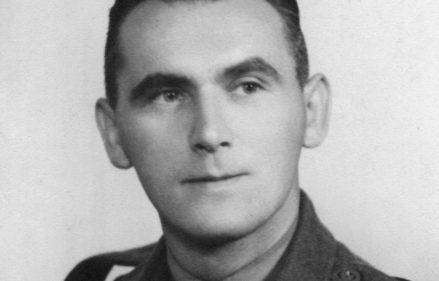 Tom Guttridge was captured during the Dunkirk evacuation in 1940