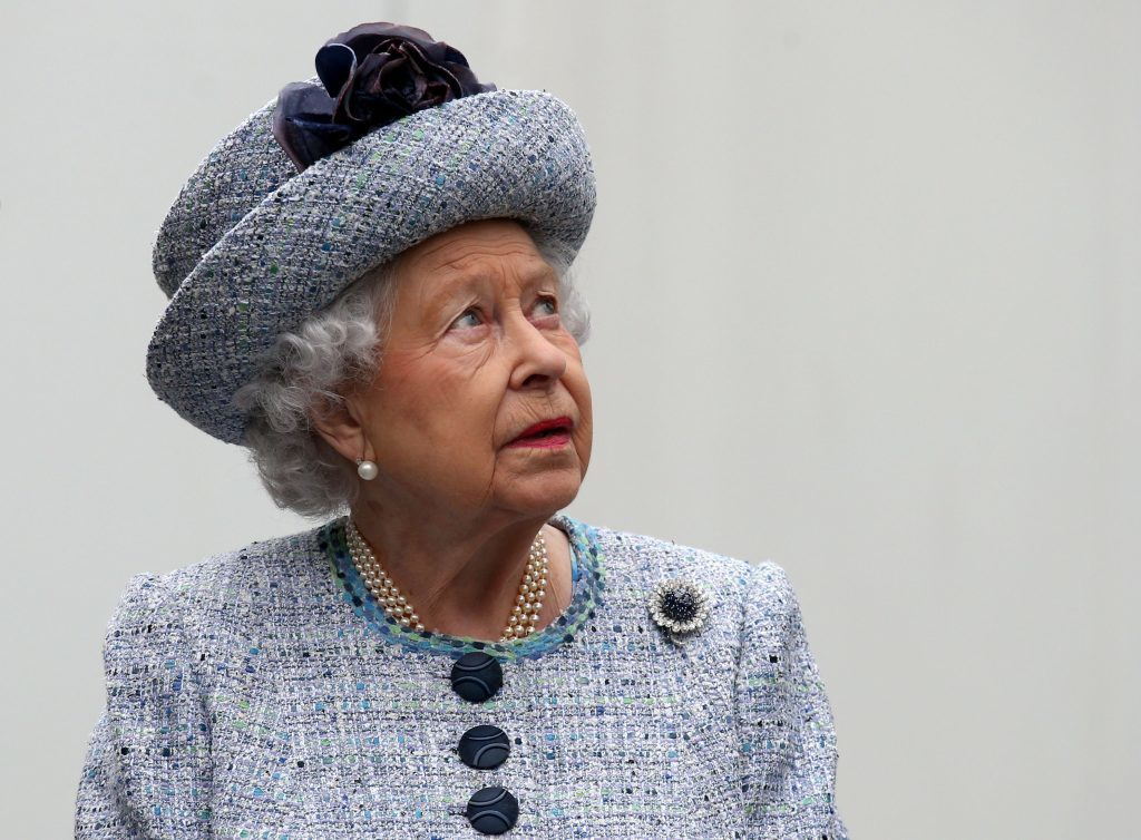 Queen Elizabeth II during a visit to Aberdeen Royal Infirmary (Andrew Milligan/PA Wire)