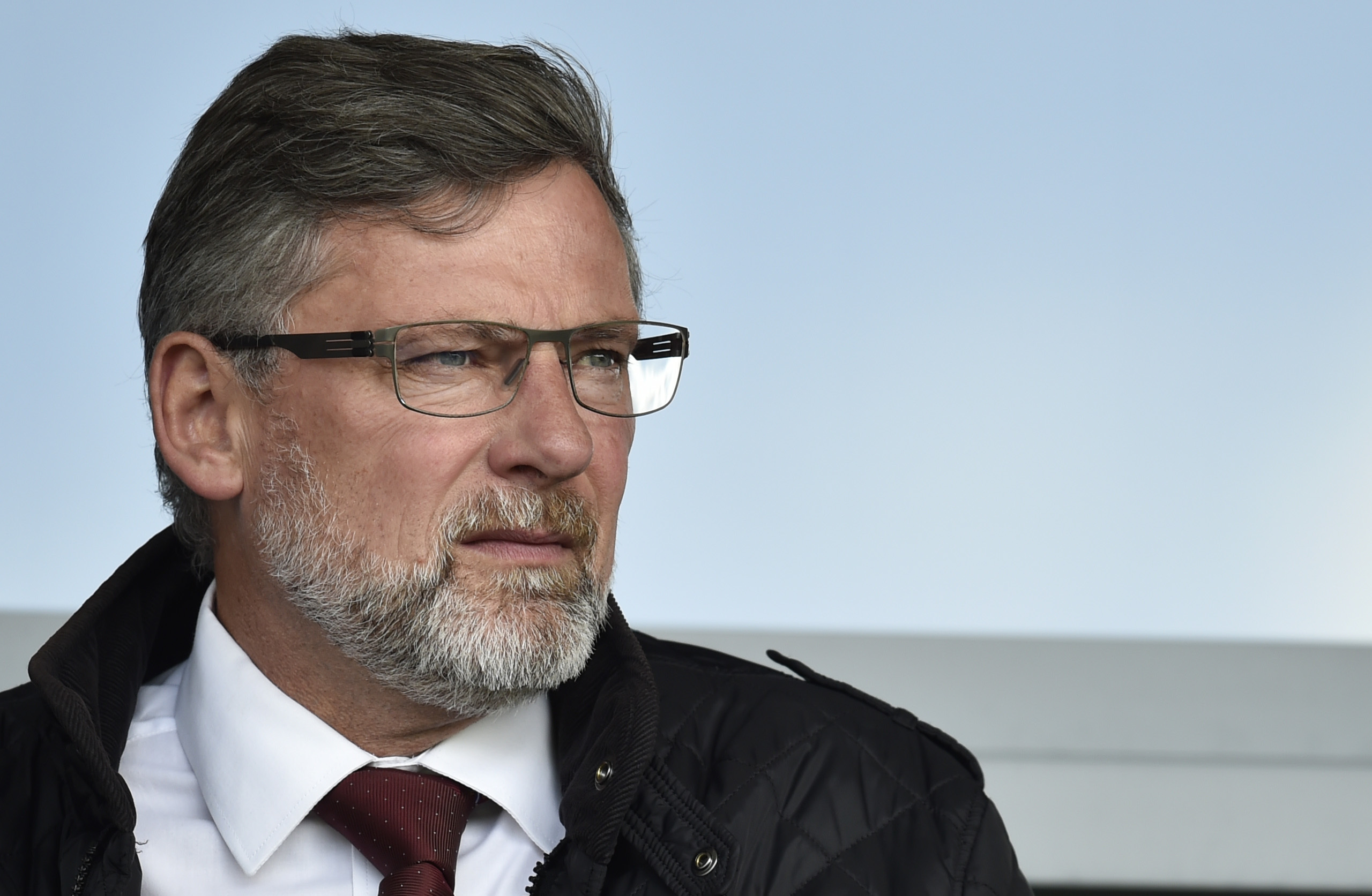 Hearts manager Craig Levein (SNS Group / Rob Casey)