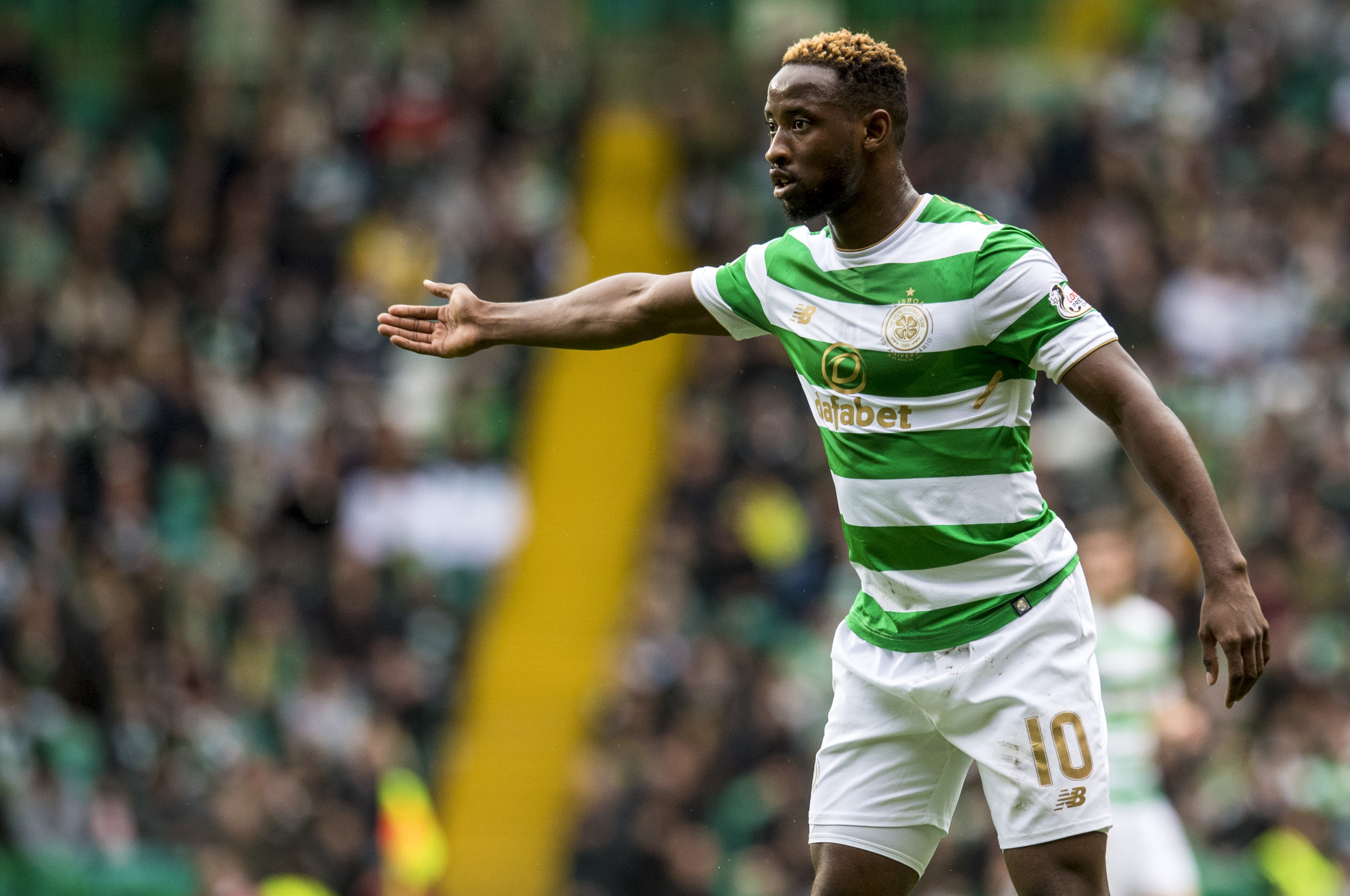 Moussa Dembele makes his return for Celtic against Ross County (SNS Group)