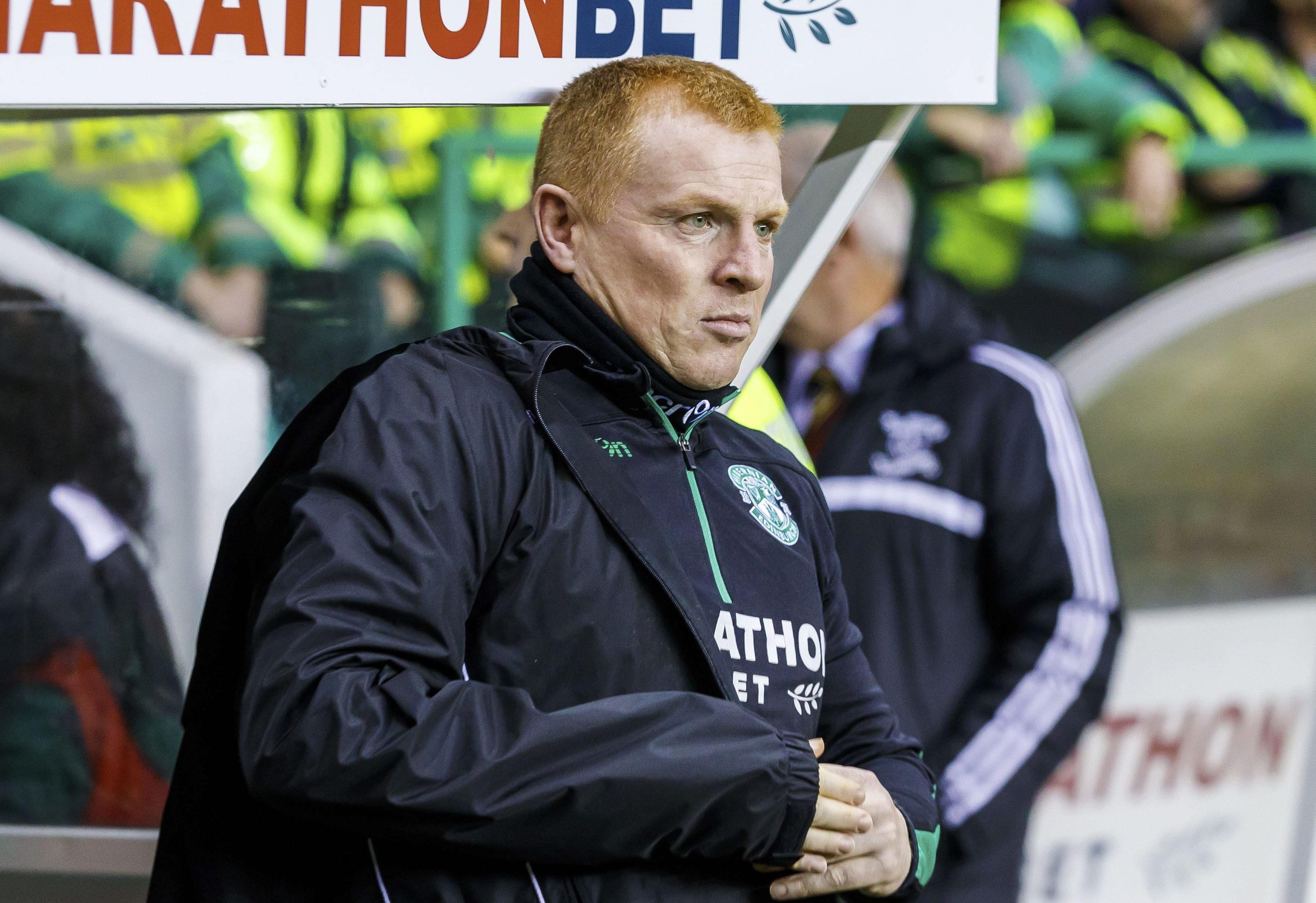 Hibernian manager Neil Lennon (SNS Group / Roddy Scott)