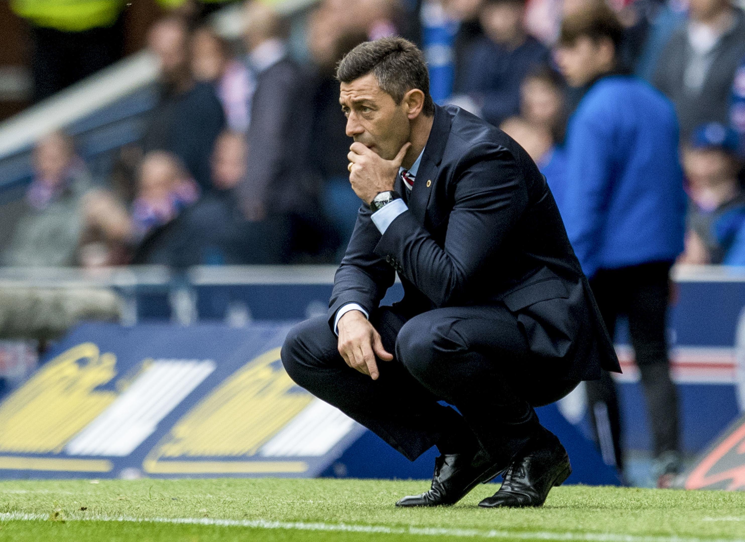 Rangers manager Pedro Caixinha (SNS)
