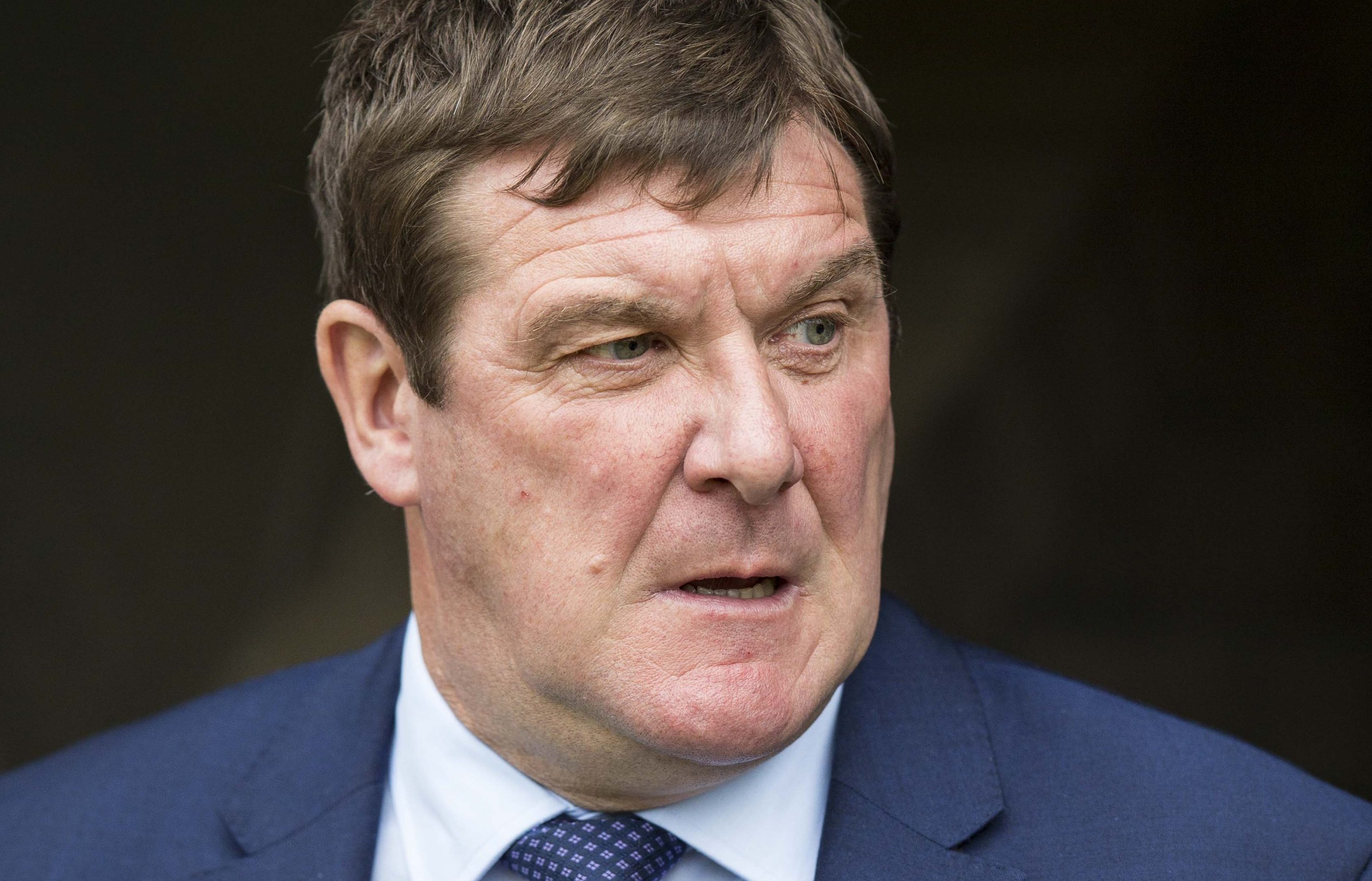 St Johnstone manager Tommy Wright (SNS)