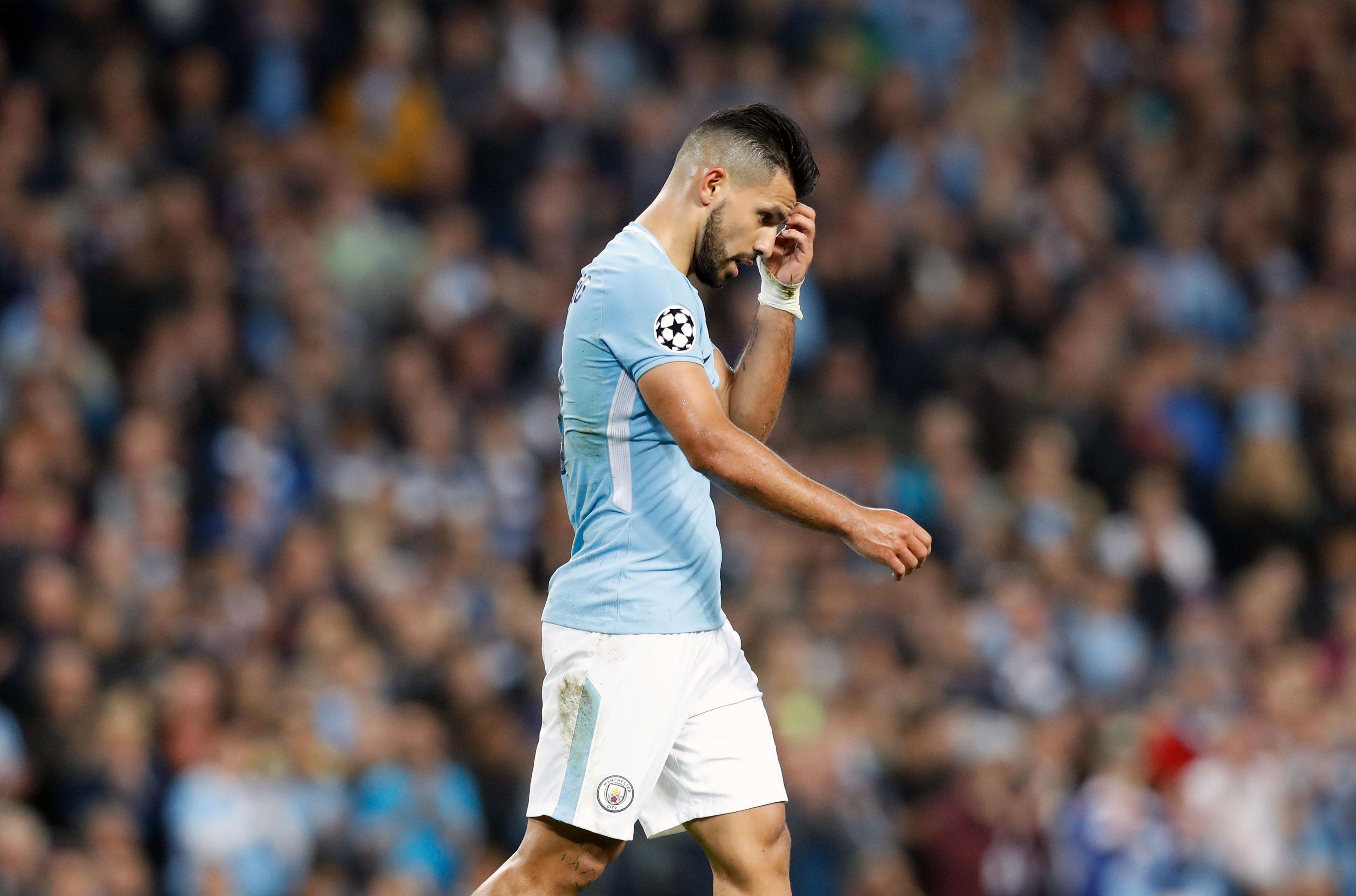 Manchester City's Sergio Aguero (Martin Rickett/PA Wire)
