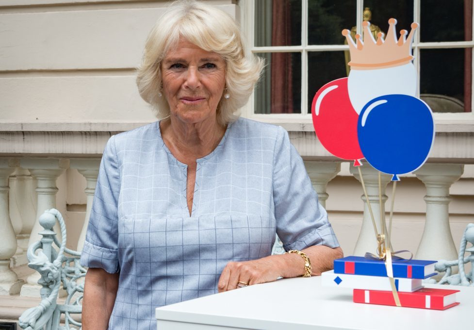 National Literacy Trust event at Clarence House in honour of HRH Duchess of Cornwall's 70th Birthday