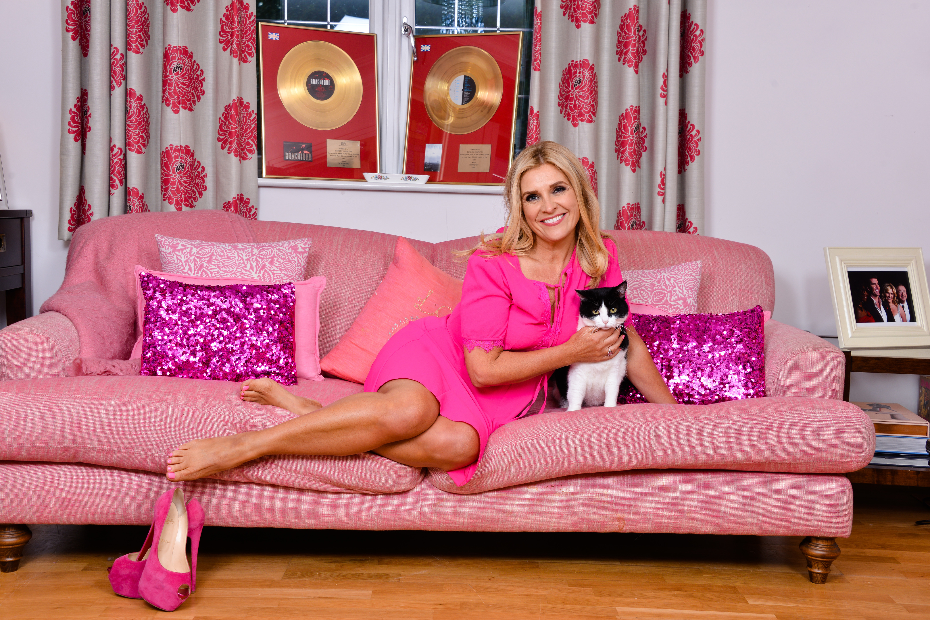Yvie Burnett at home in Bedfordshire (Mike Lawn)