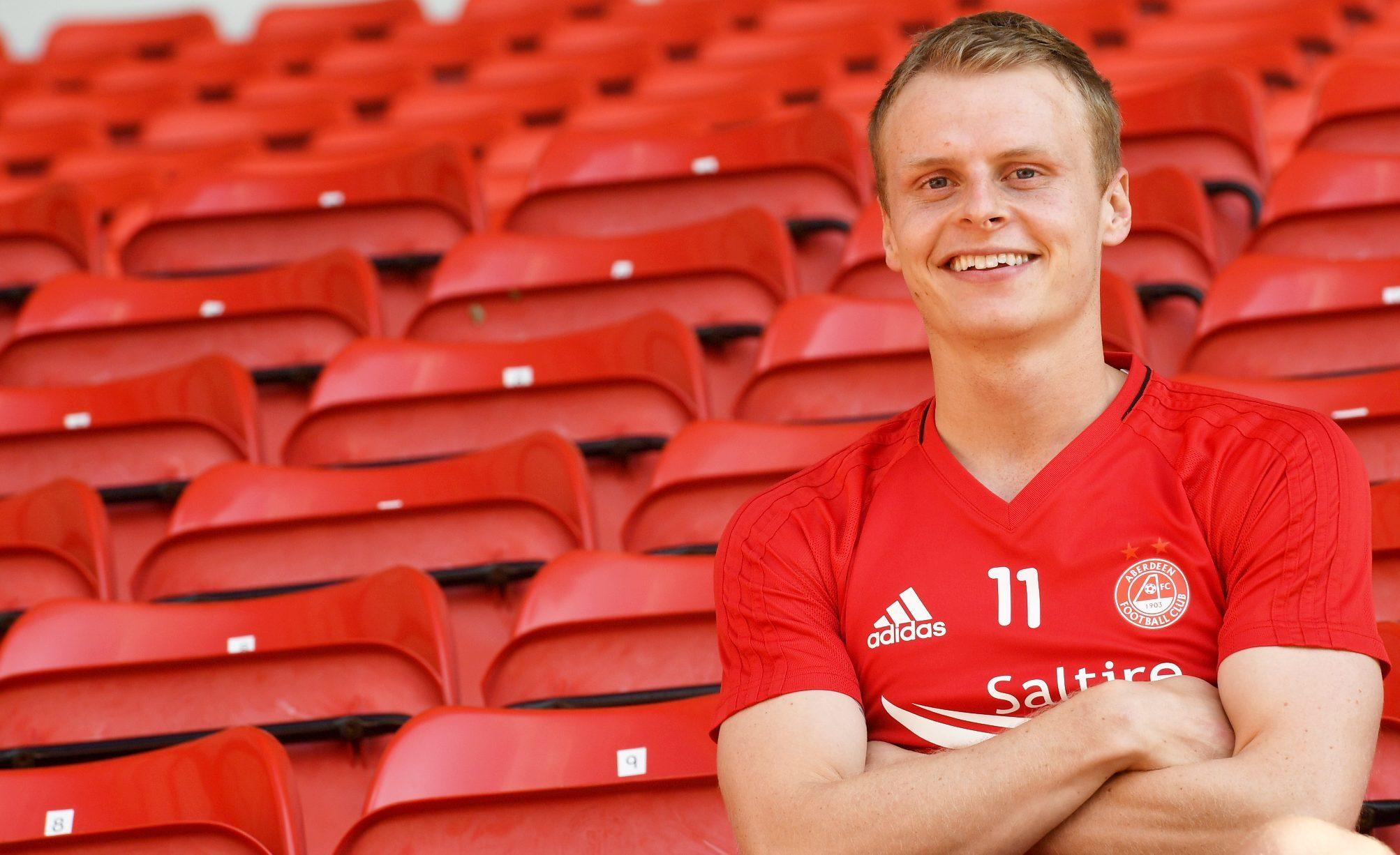Aberdeen's Gary Mackay-Steven (Chris Sumner / DC Thomson)