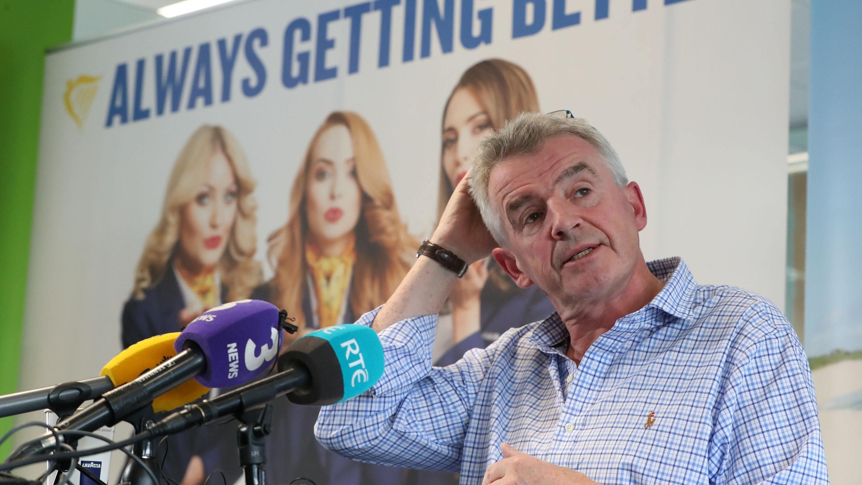 Ryanair boss Michael O'Leary (Niall Carson/PA)