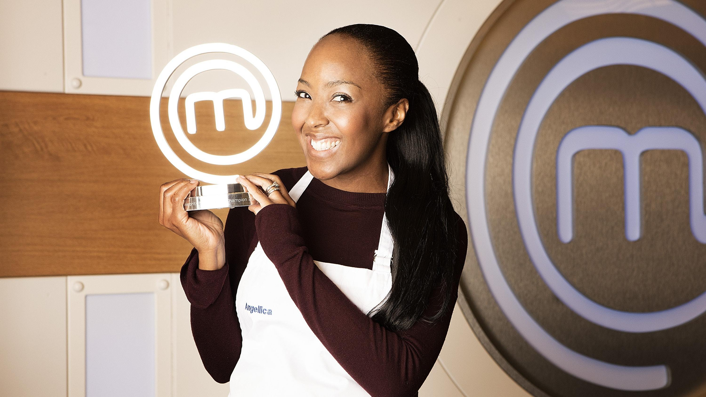 Angellica Bell crowned the winner of Celebrity MasterChef (BBC/PA)