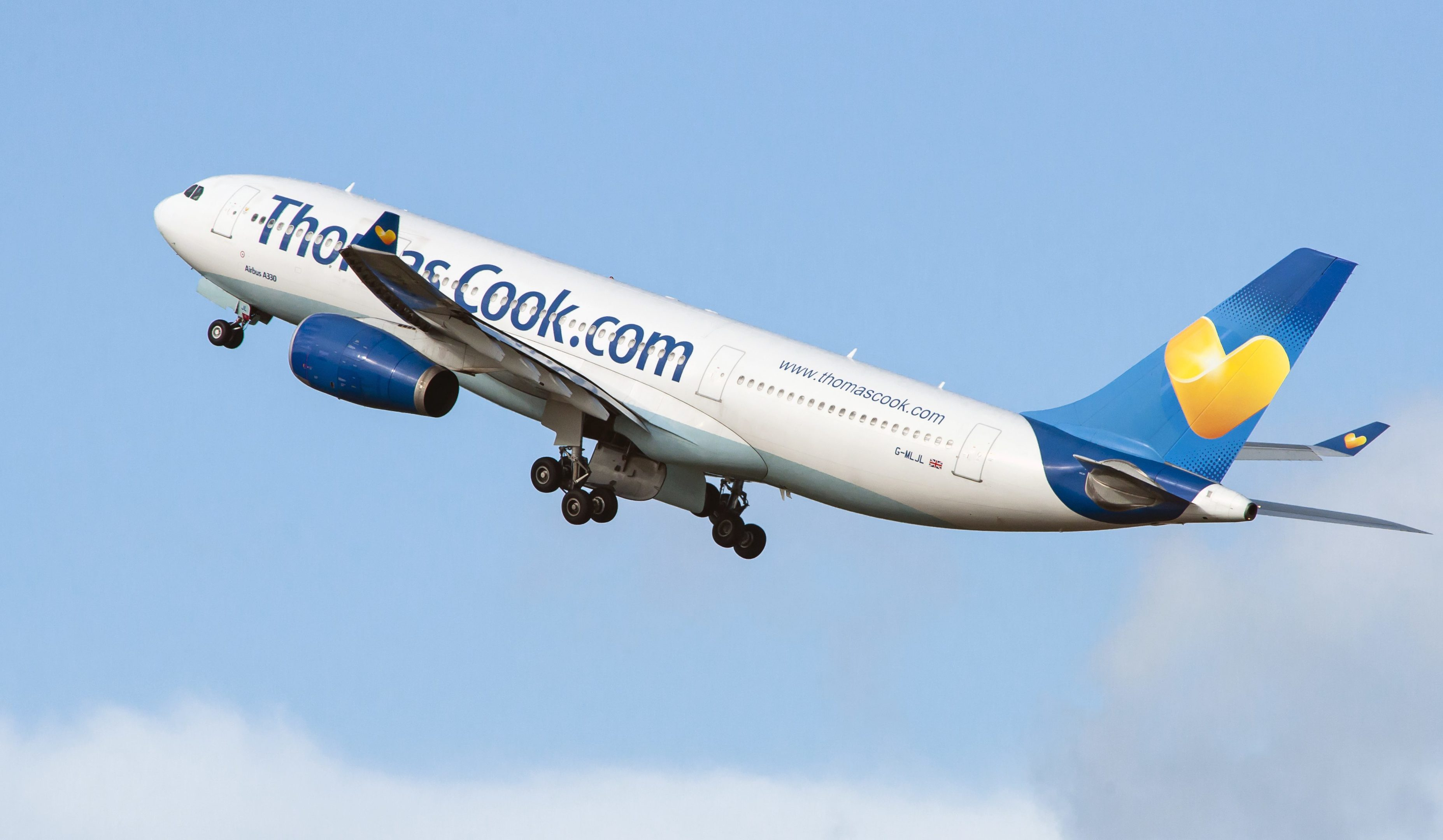 A Thomas Cook plane (Getty Images)