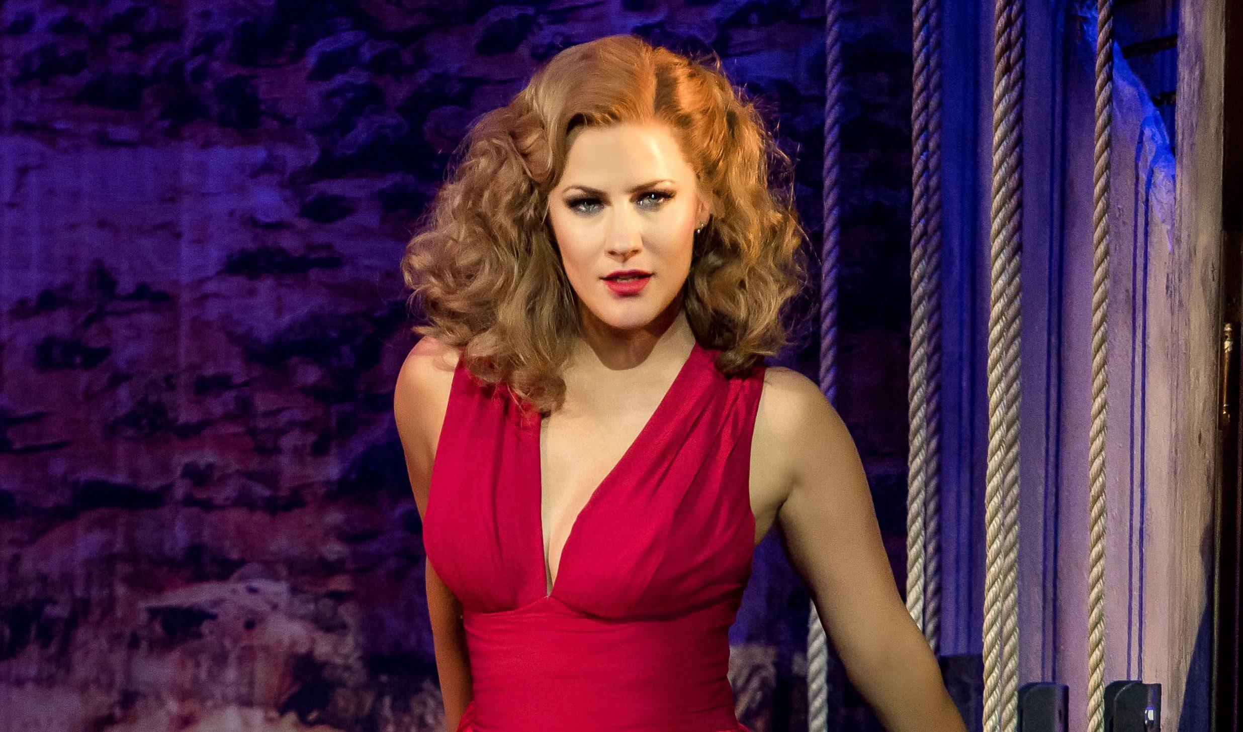 Caroline Flack in Crazy For You (Richard Davenport)
