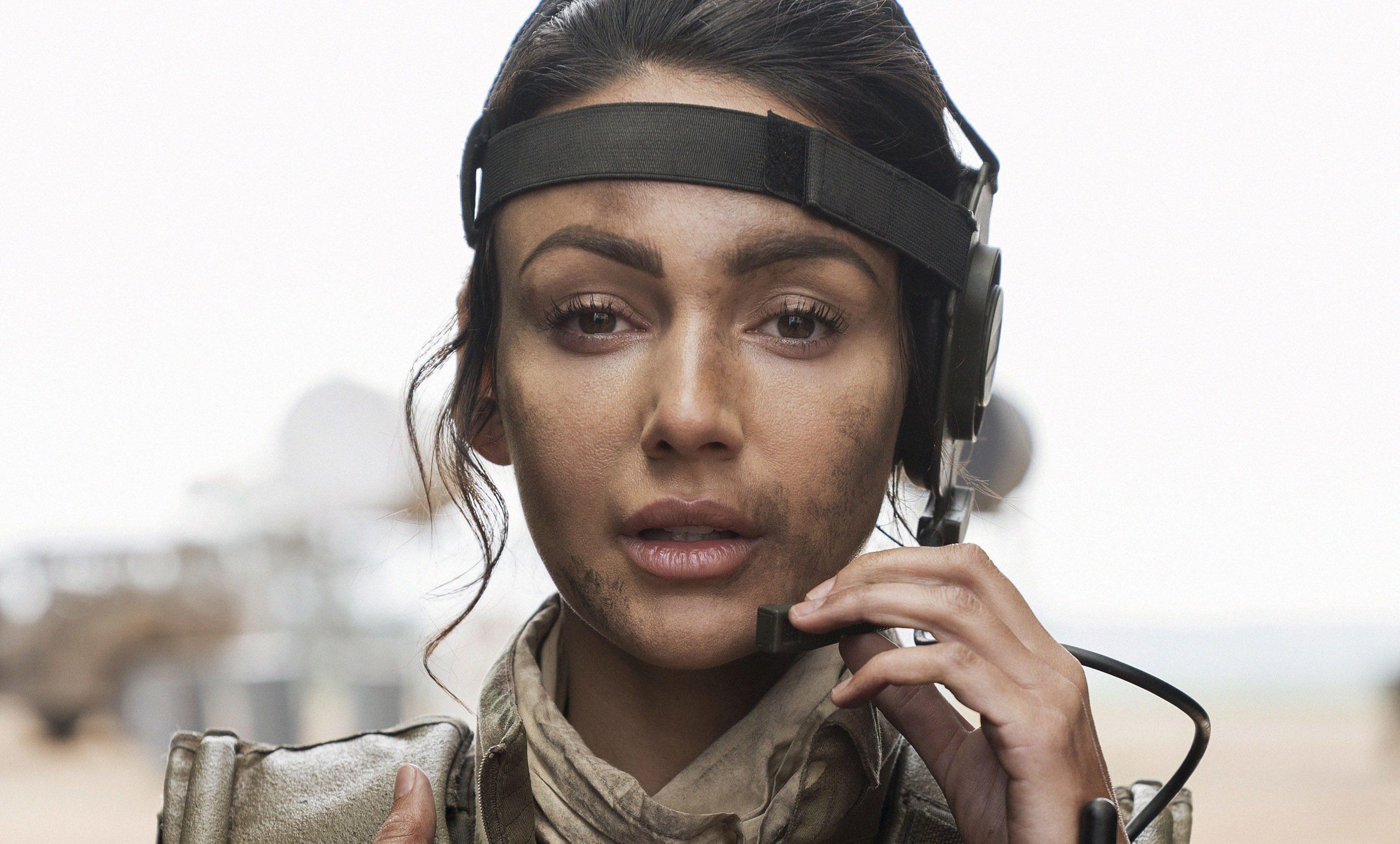 Michelle Keegan in Our Girl (BBC / Frans Marais)