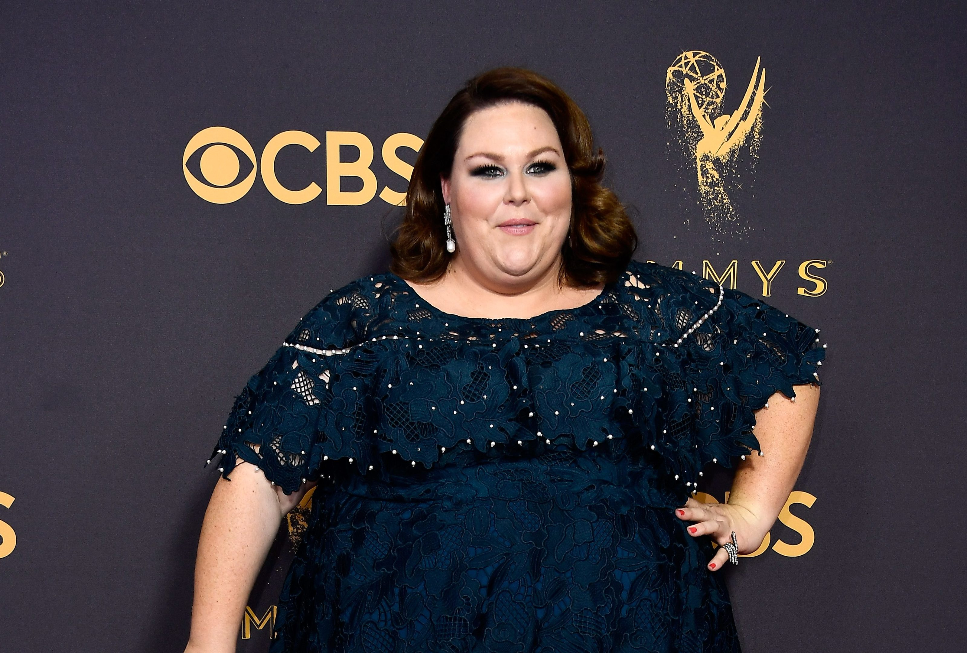 Actor Chrissy Metz attends the 69th Annual Primetime Emmy Awards (Frazer Harrison/Getty Images)