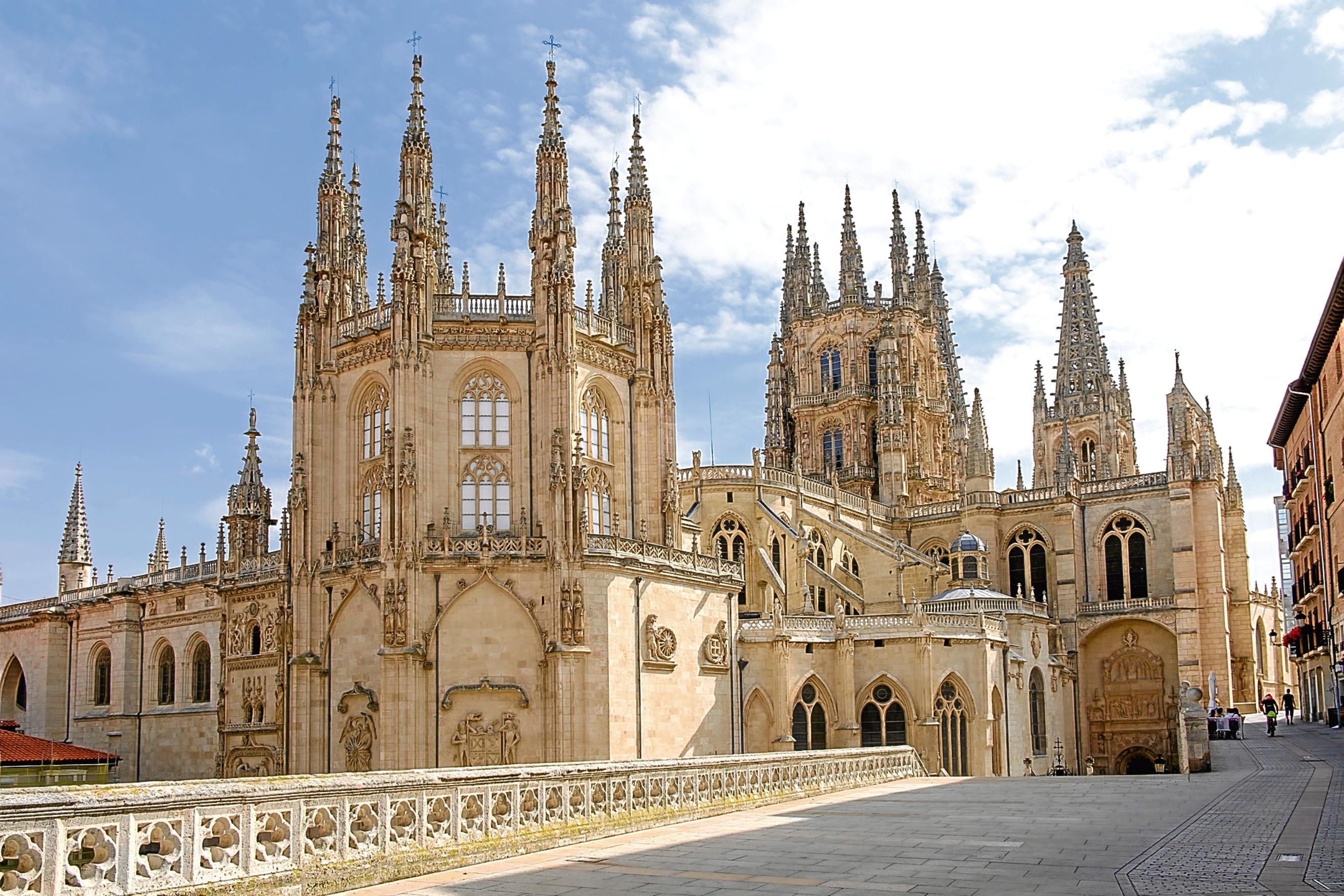 Cathedral of Santa Maria in Burgos, Castilla y Leon,  Spain (iStock)