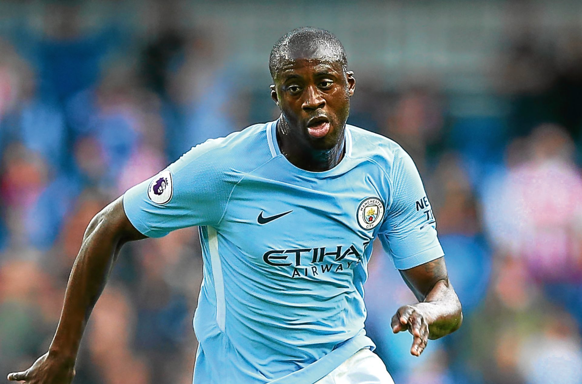 Yaya Toure has his sights set on another Champions League winner's medal
