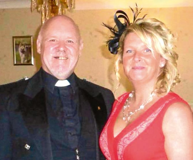 Steve Clipston and his wife Moira. (Facebook)