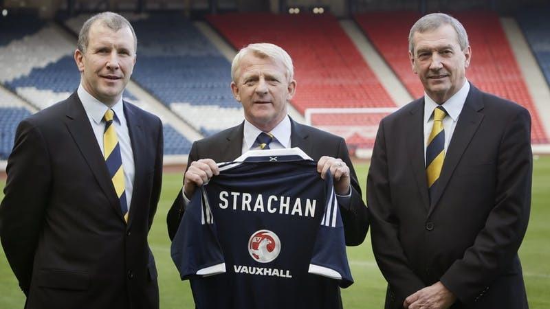 Gordon Strachan was appointed Scotland boss in 2013