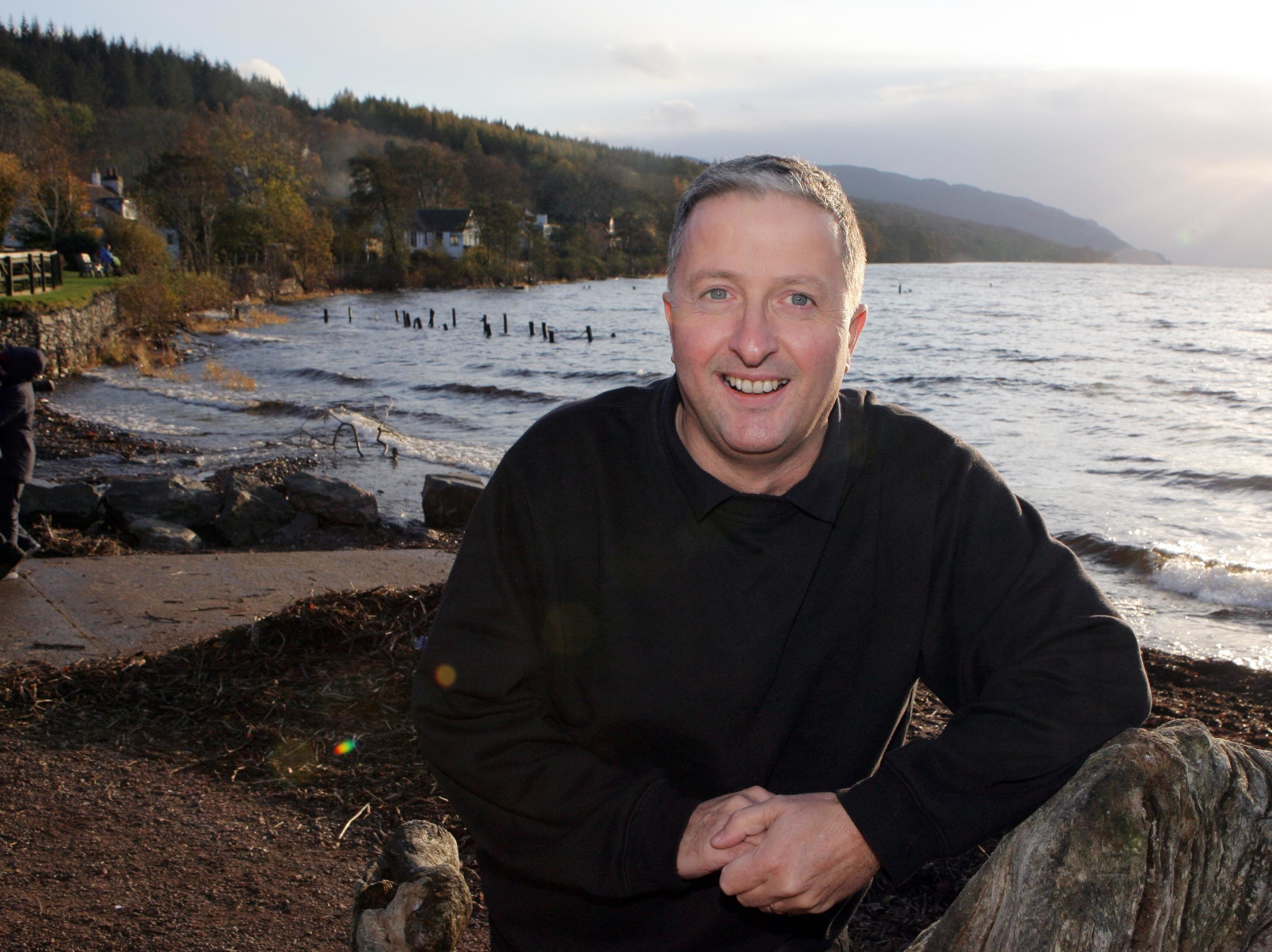 "Gary Campbell who raised funds to buy a skeleton of ""Nessie"" (Peter Jolly)"